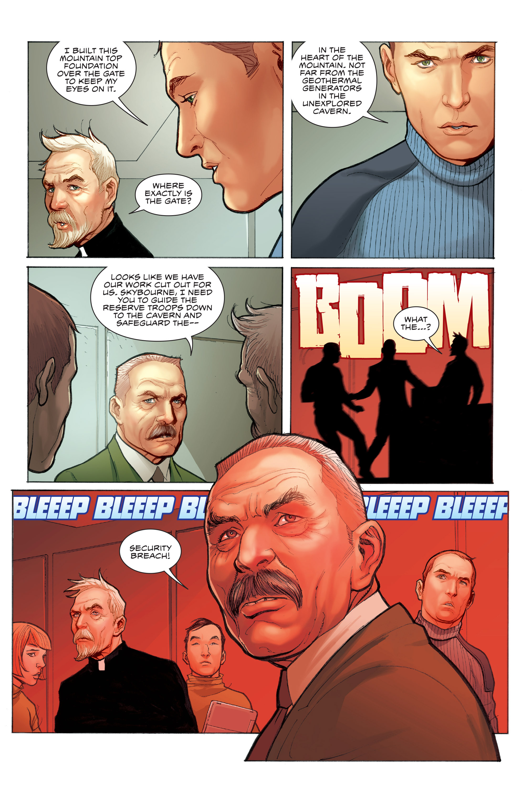 Read online Skybourne comic -  Issue #3 - 25