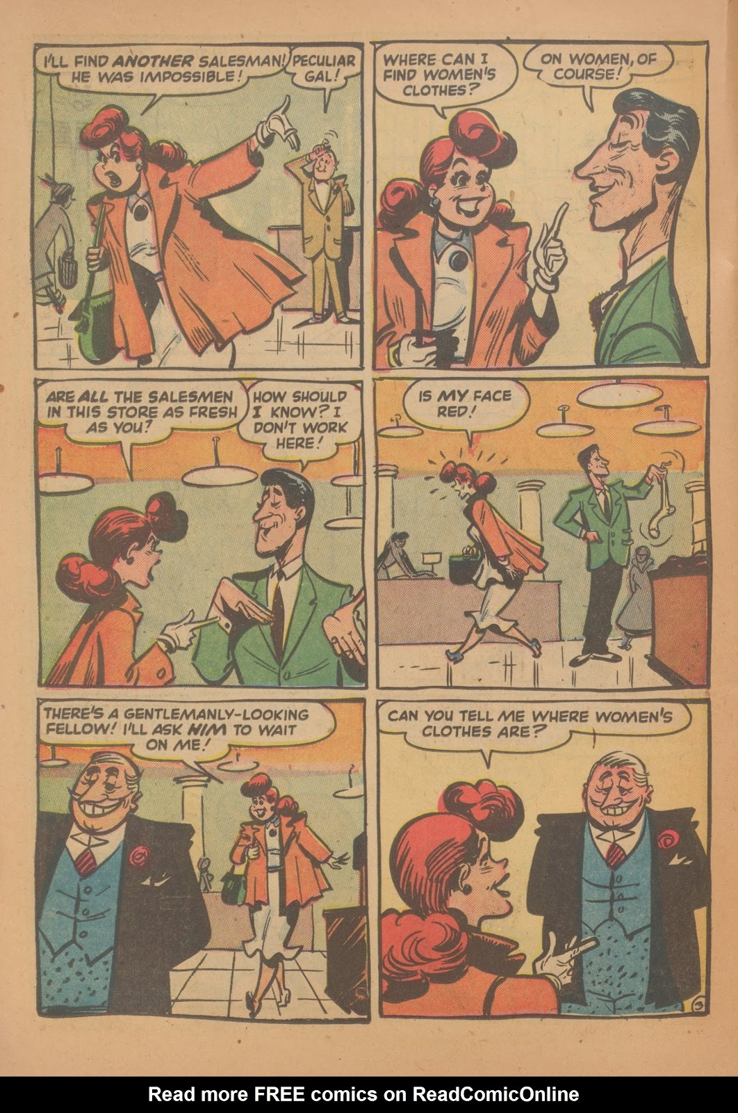 Read online Nellie The Nurse (1945) comic -  Issue #35 - 22