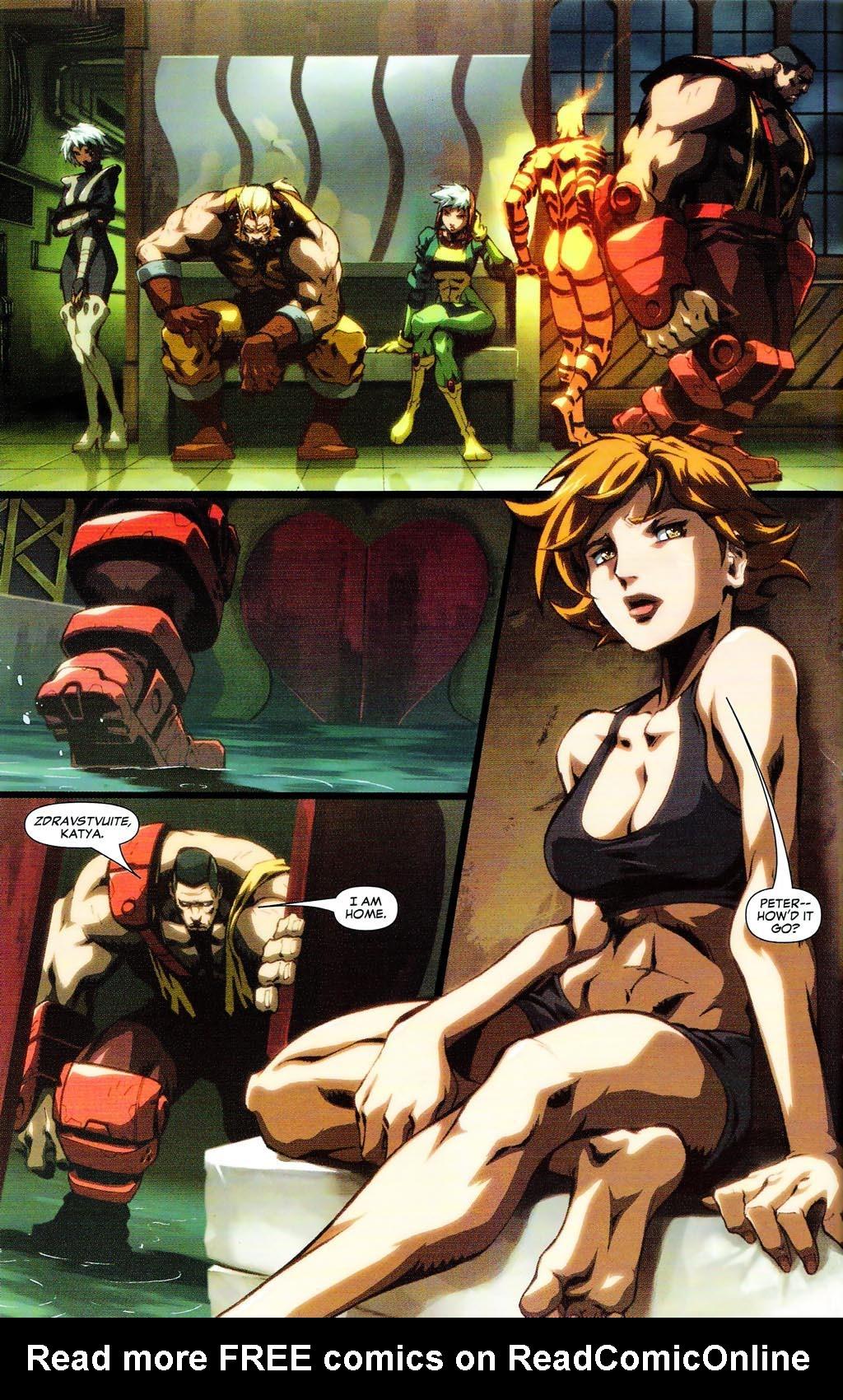 Read online Age of Apocalypse (2005) comic -  Issue #0 - 6