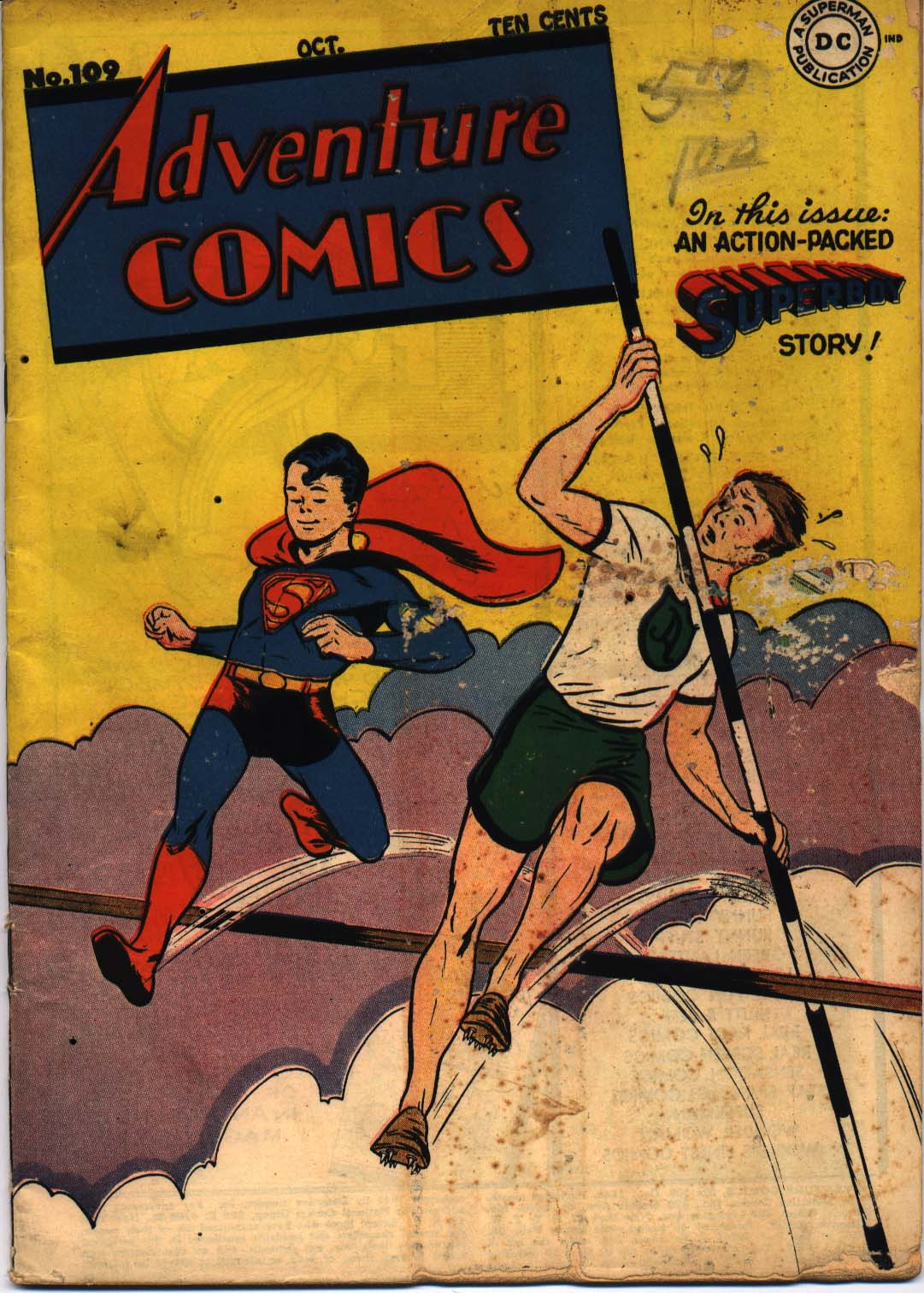 Read online Adventure Comics (1938) comic -  Issue #109 - 1