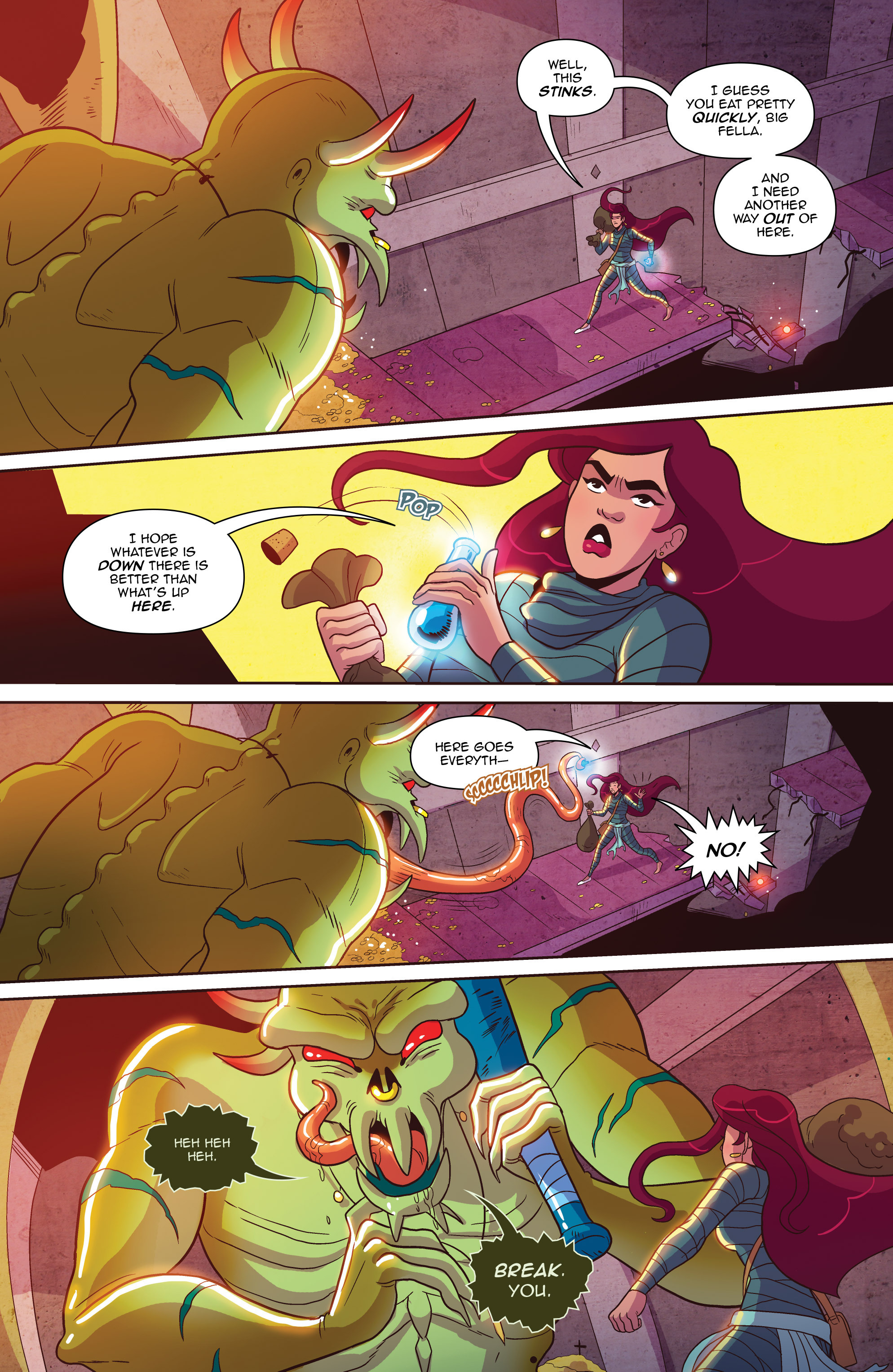 Read online Another Castle comic -  Issue #2 - 24