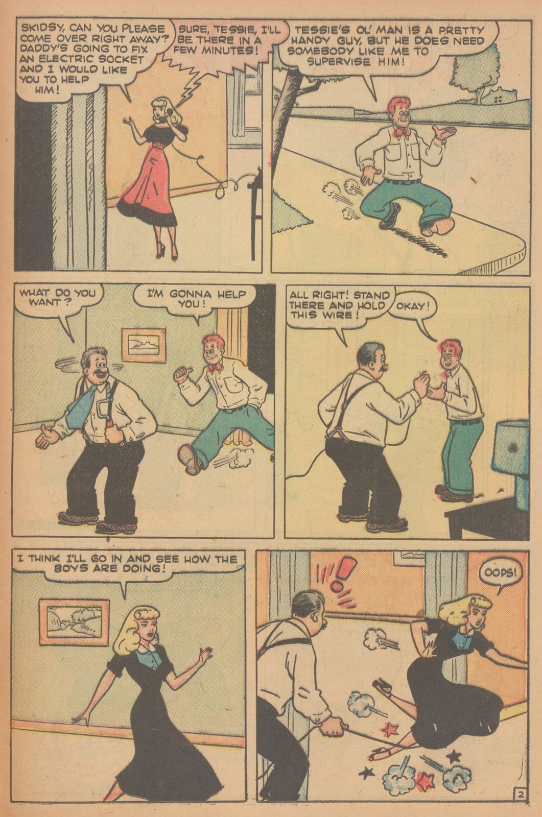 Read online Nellie The Nurse (1945) comic -  Issue #21 - 37
