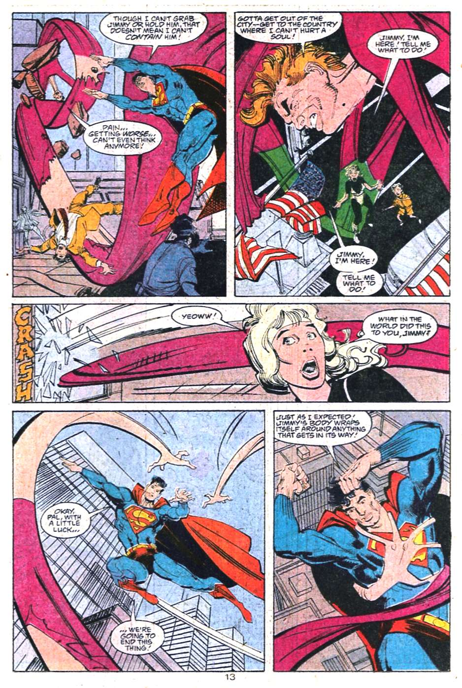 Read online Adventures of Superman (1987) comic -  Issue #458 - 14