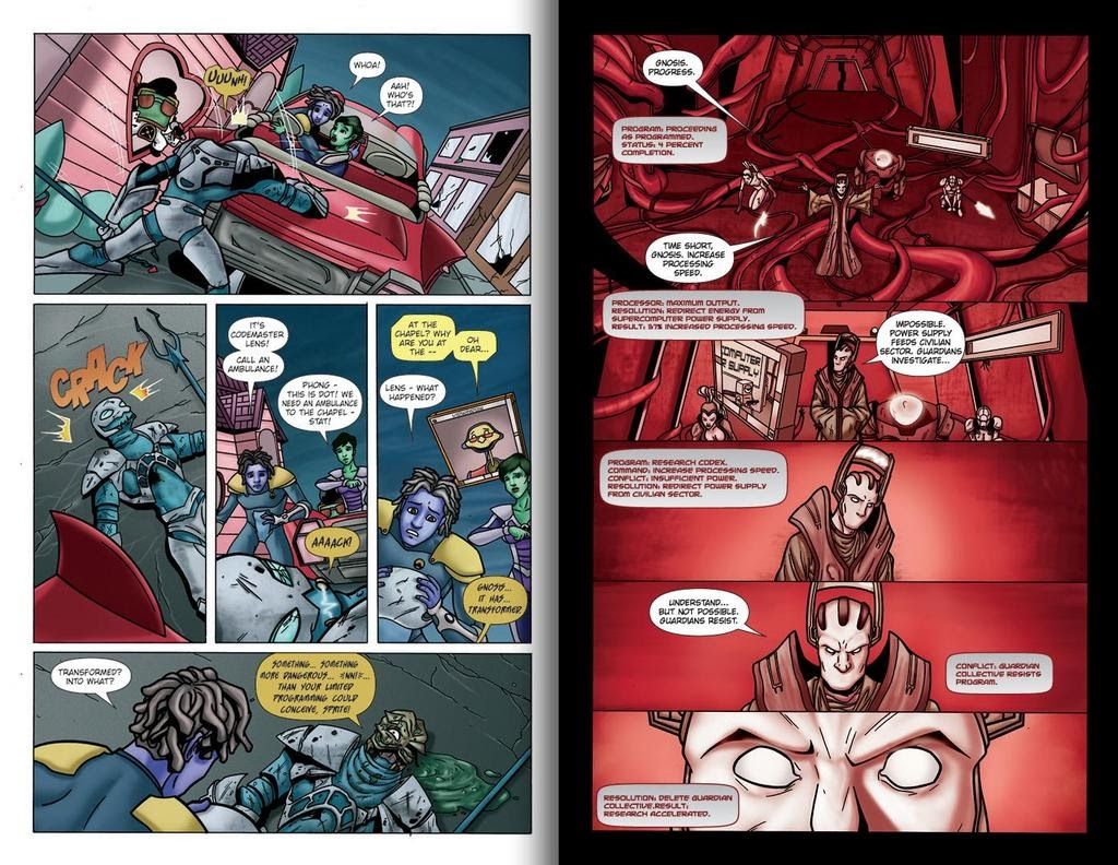 Read online ReBoot: Paradigms Lost comic -  Issue # Full - 15