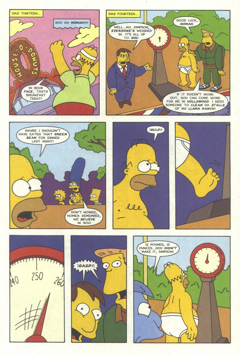 Read online Simpsons Comics comic -  Issue #18 - 20