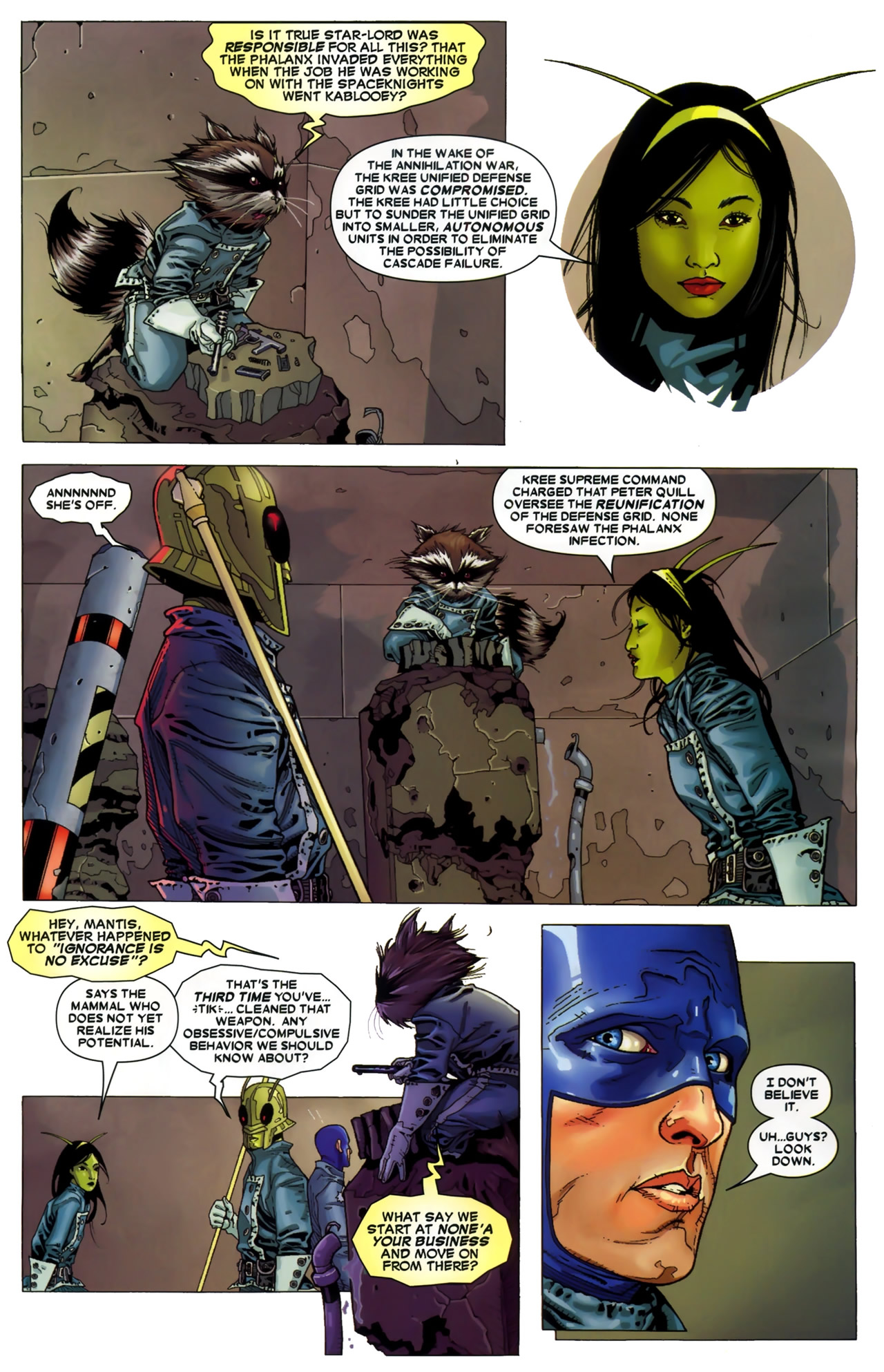 Read online Annihilation: Conquest - Starlord comic -  Issue #3 - 7
