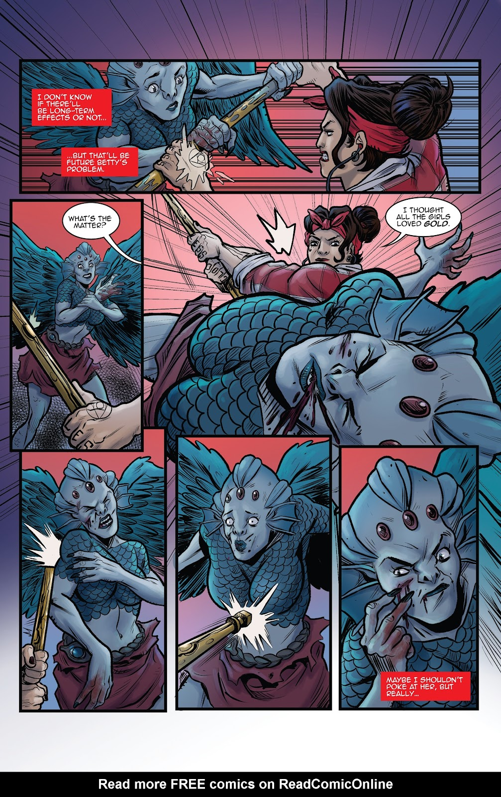 Read online Black Betty comic -  Issue #8 - 11