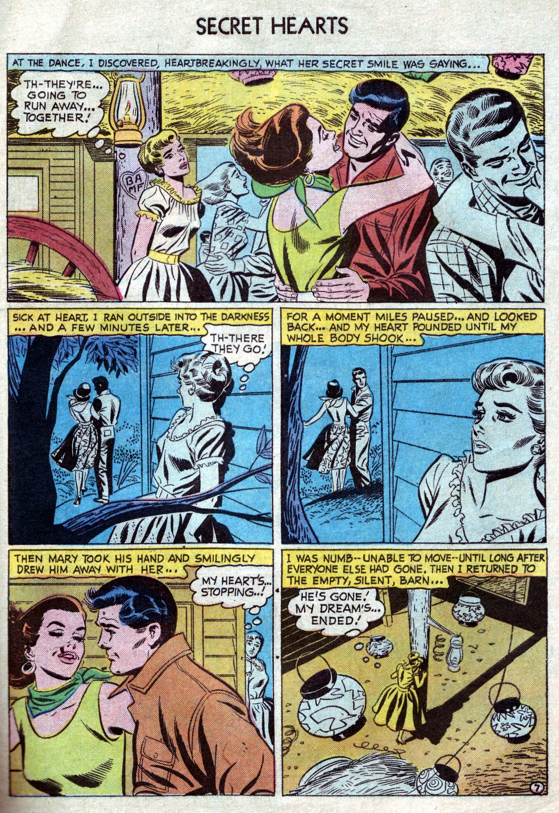 Read online Secret Hearts comic -  Issue #33 - 33