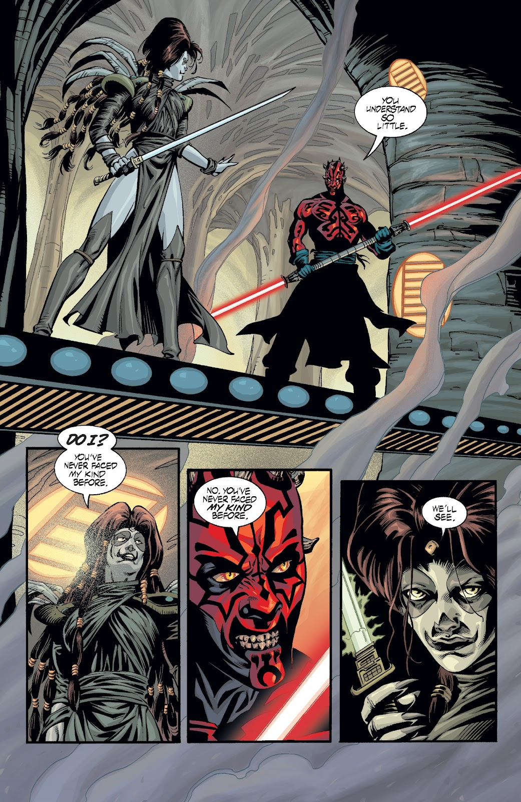 Read online Star Wars Legends: Rise of the Sith - Epic Collection comic -  Issue # TPB 2 (Part 3) - 18