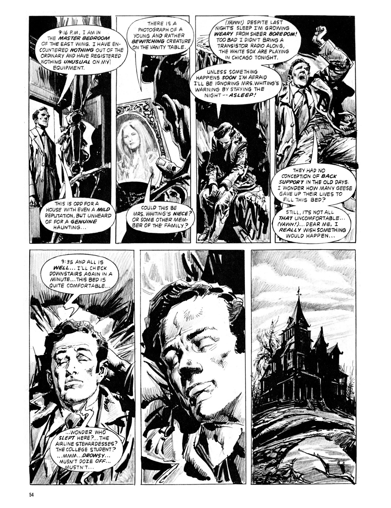 Read online Eerie Archives comic -  Issue # TPB 20 - 54