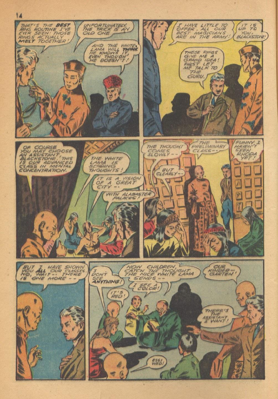 Read online Super-Magician Comics comic -  Issue #13 - 14
