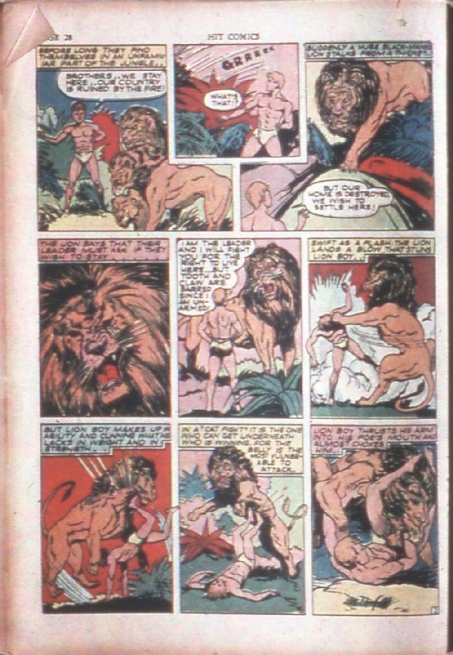 Read online Hit Comics comic -  Issue #15 - 30