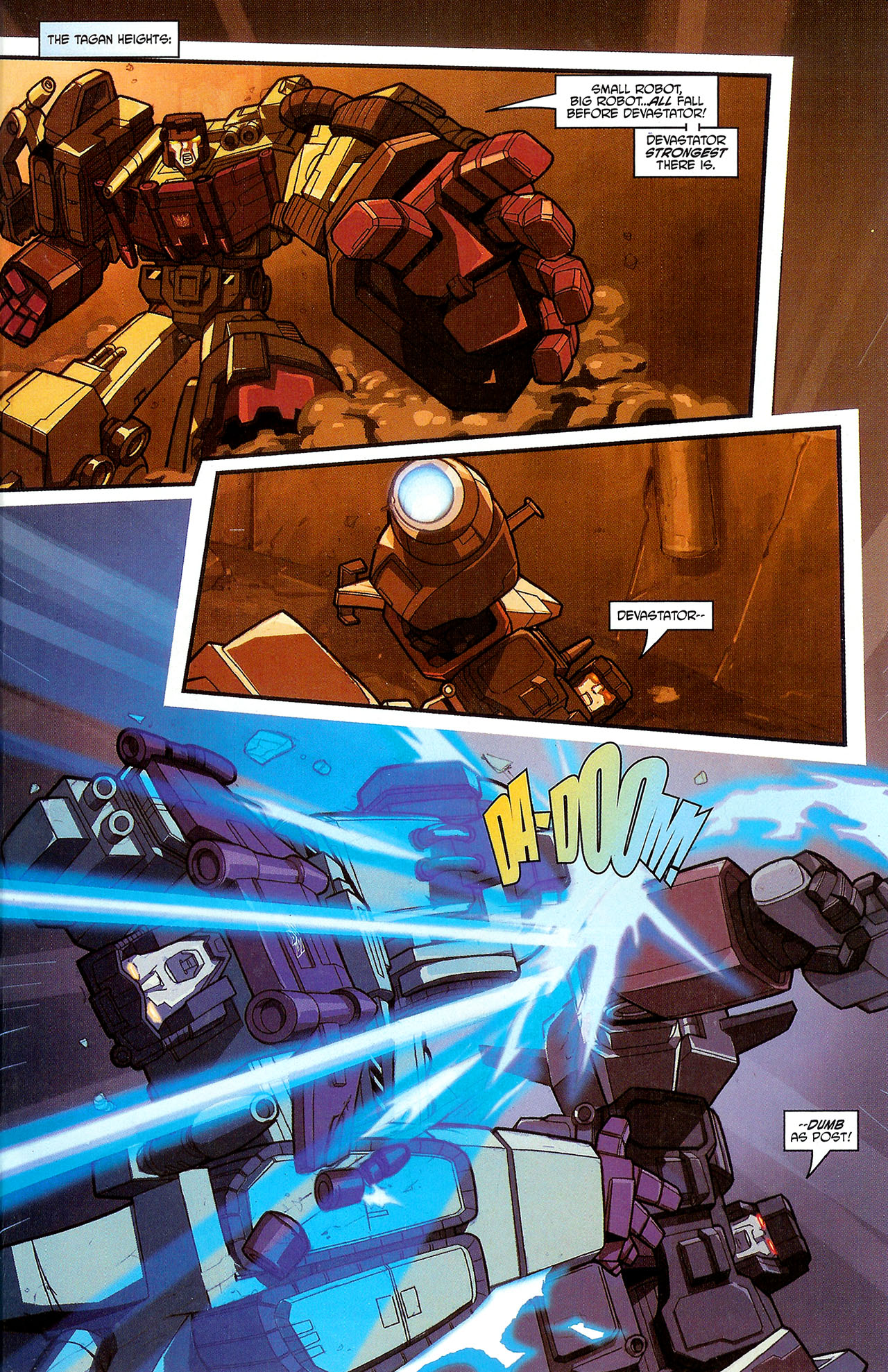 """Read online Transformers War Within: """"The Dark Ages"""" comic -  Issue #3 - 12"""