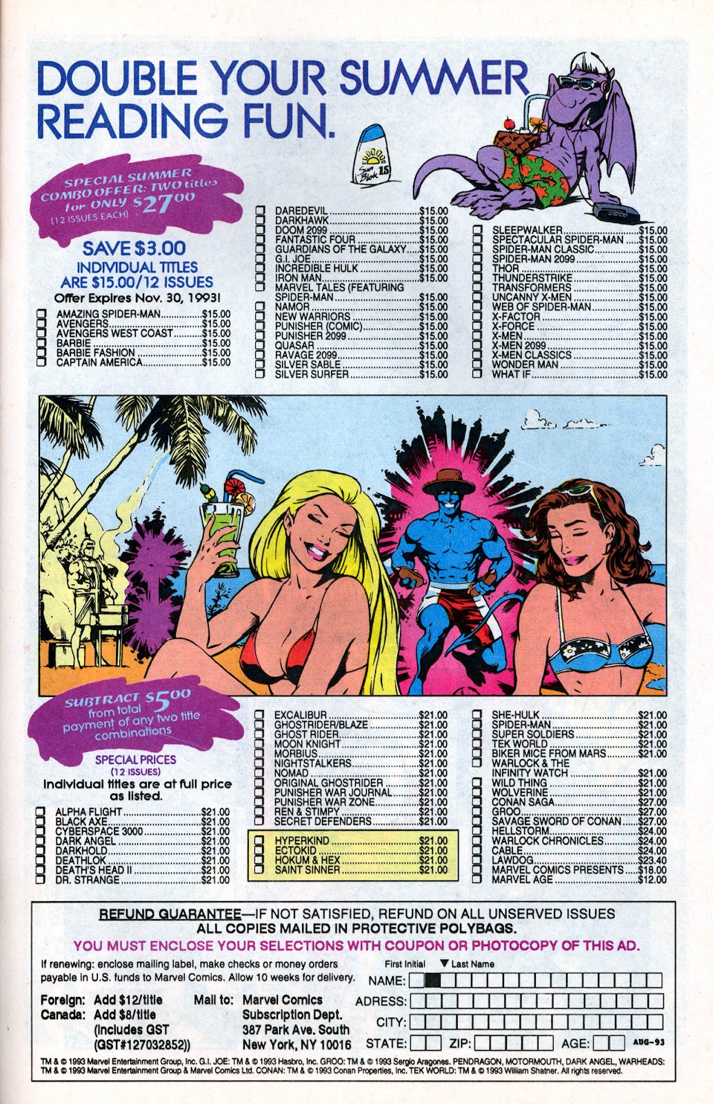 X-Force (1991) Issue #26 #31 - English 31