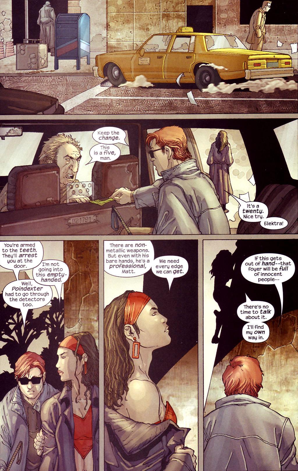 Read online Ultimate Elektra comic -  Issue #4 - 18