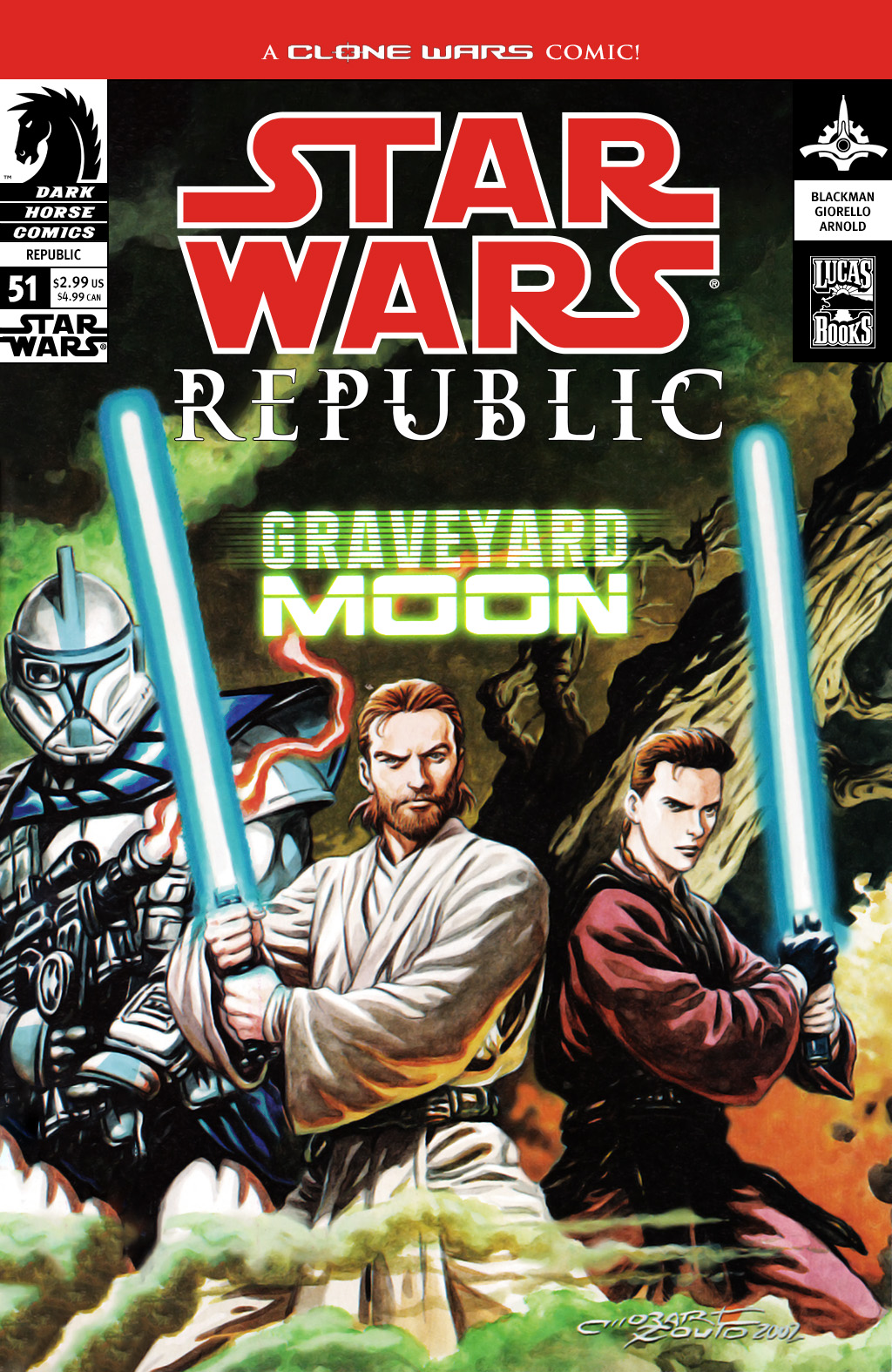 Star Wars: Republic 51 Page 1