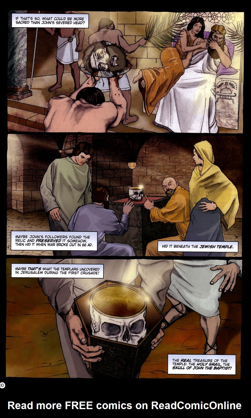 Read online Rex Mundi comic -  Issue #14 - 14