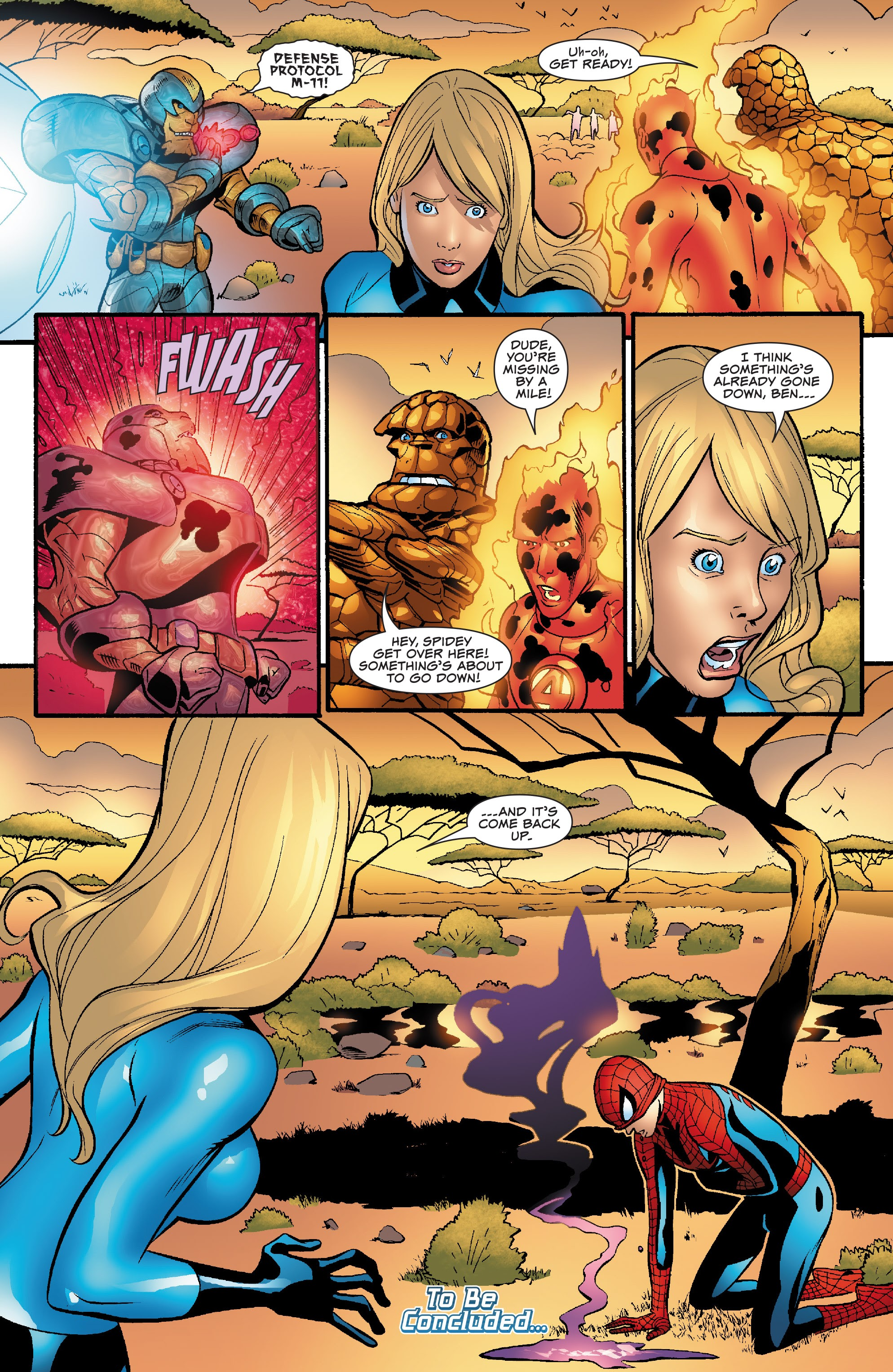 Spider-Man and the Fantastic Four issue 3 - Page 24