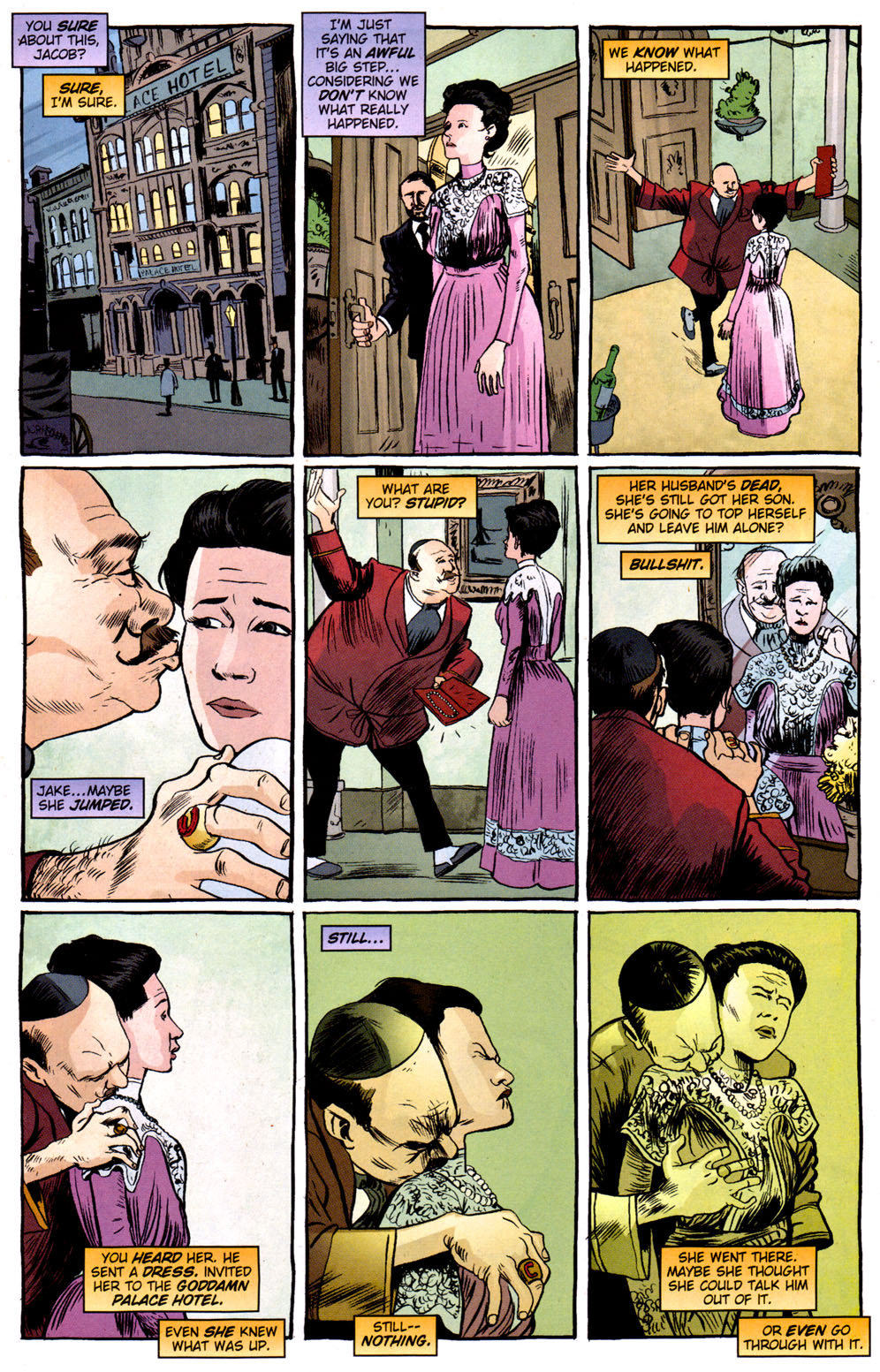 Read online Caper comic -  Issue #3 - 2