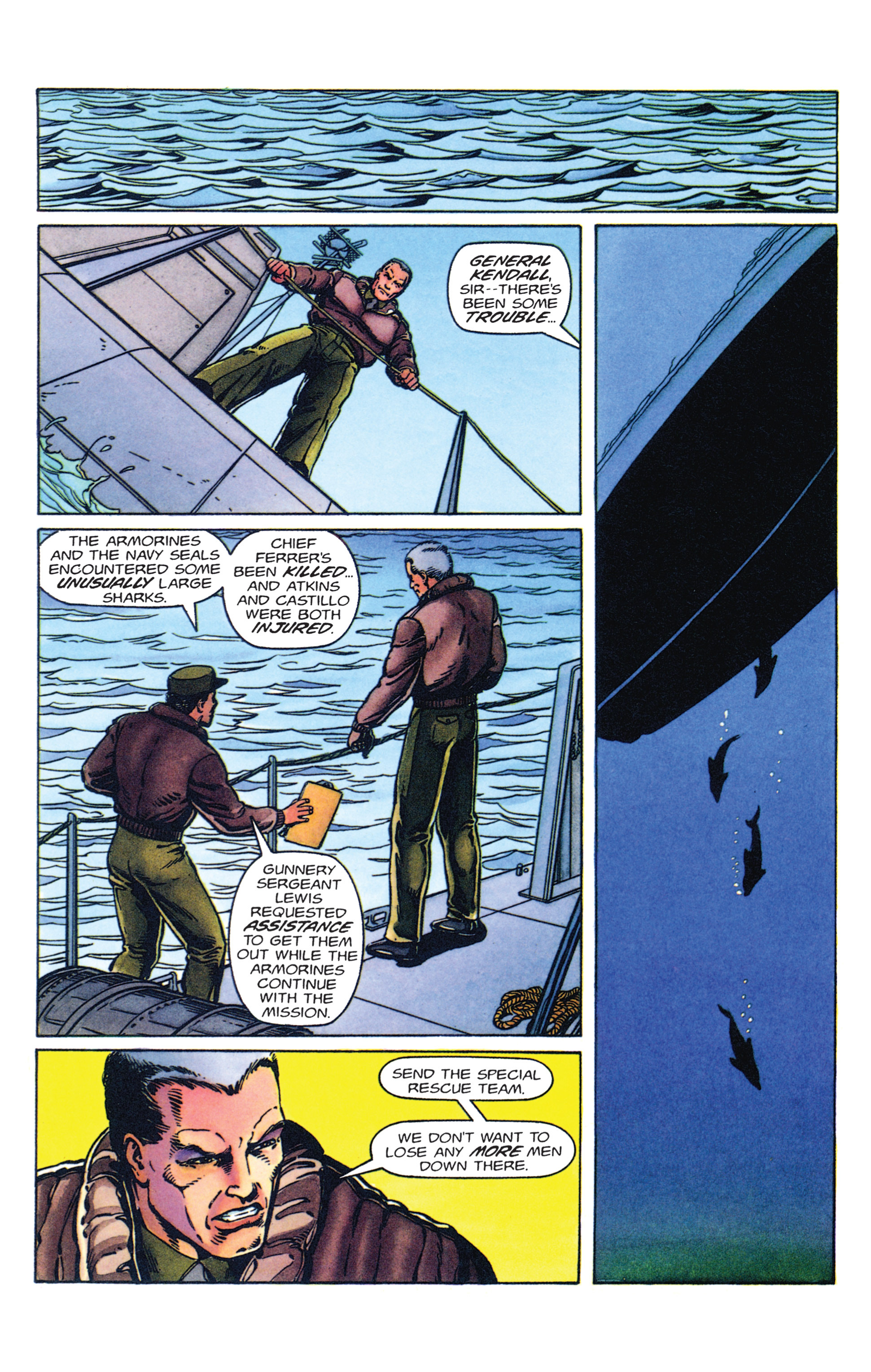 Read online Armorines comic -  Issue #2 - 9