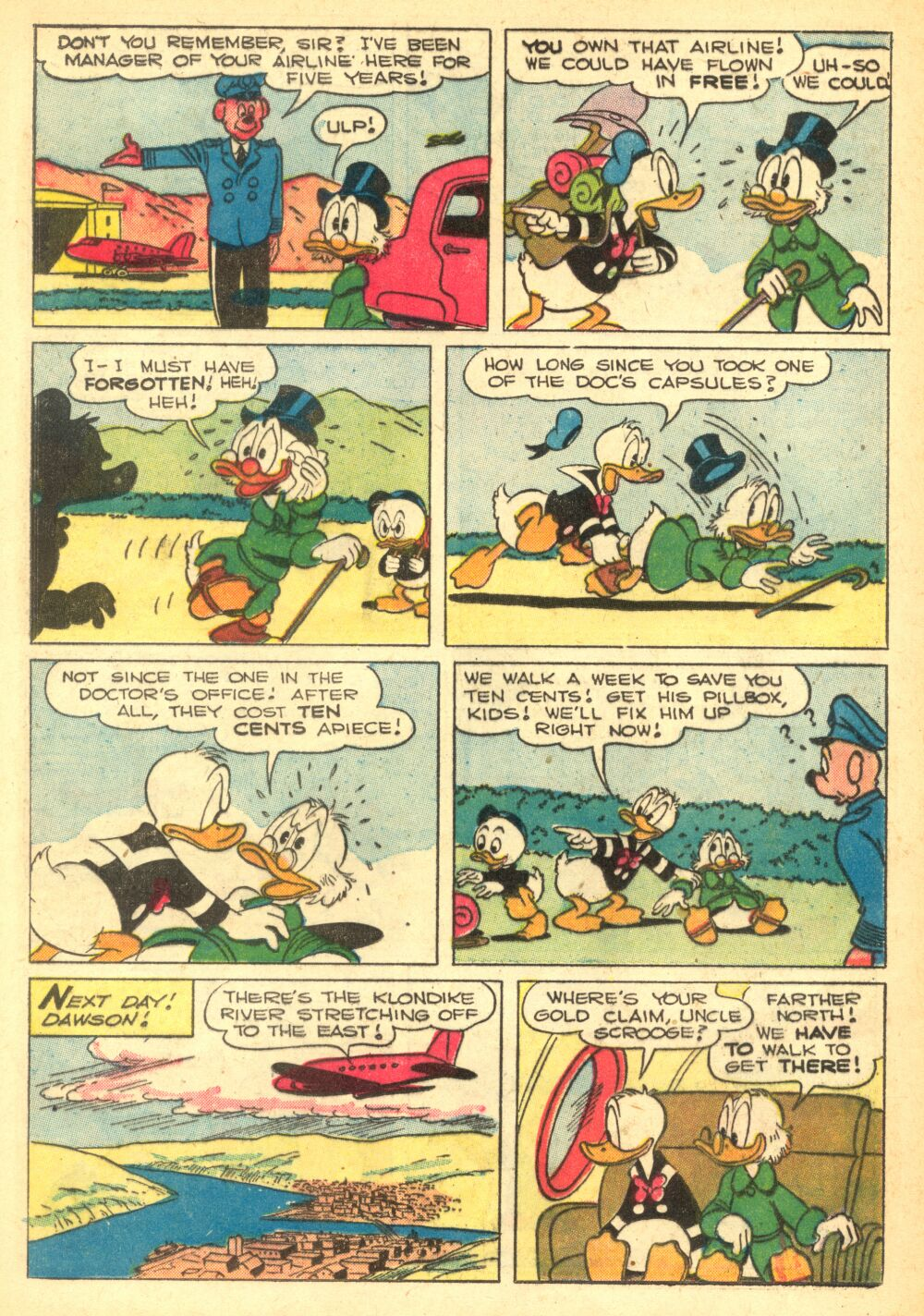 Read online Uncle Scrooge (1953) comic -  Issue #2 - 12