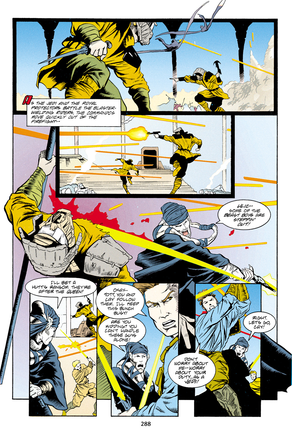Read online Star Wars Omnibus comic -  Issue # Vol. 4 - 277