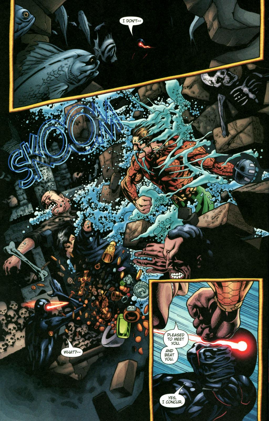 Read online Aquaman (2003) comic -  Issue #22 - 7