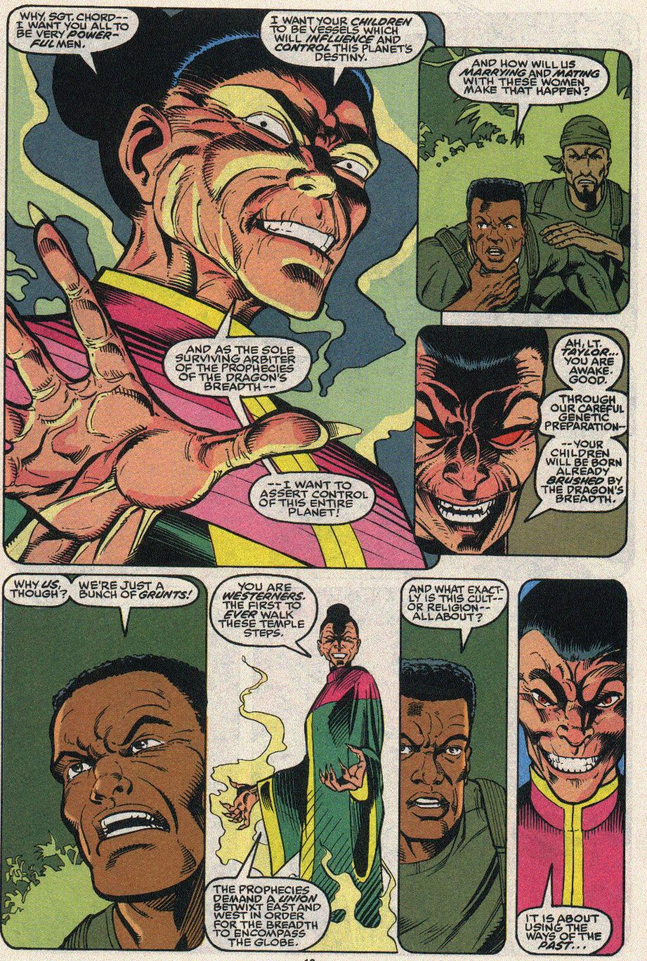 The New Warriors Issue #24 #28 - English 14