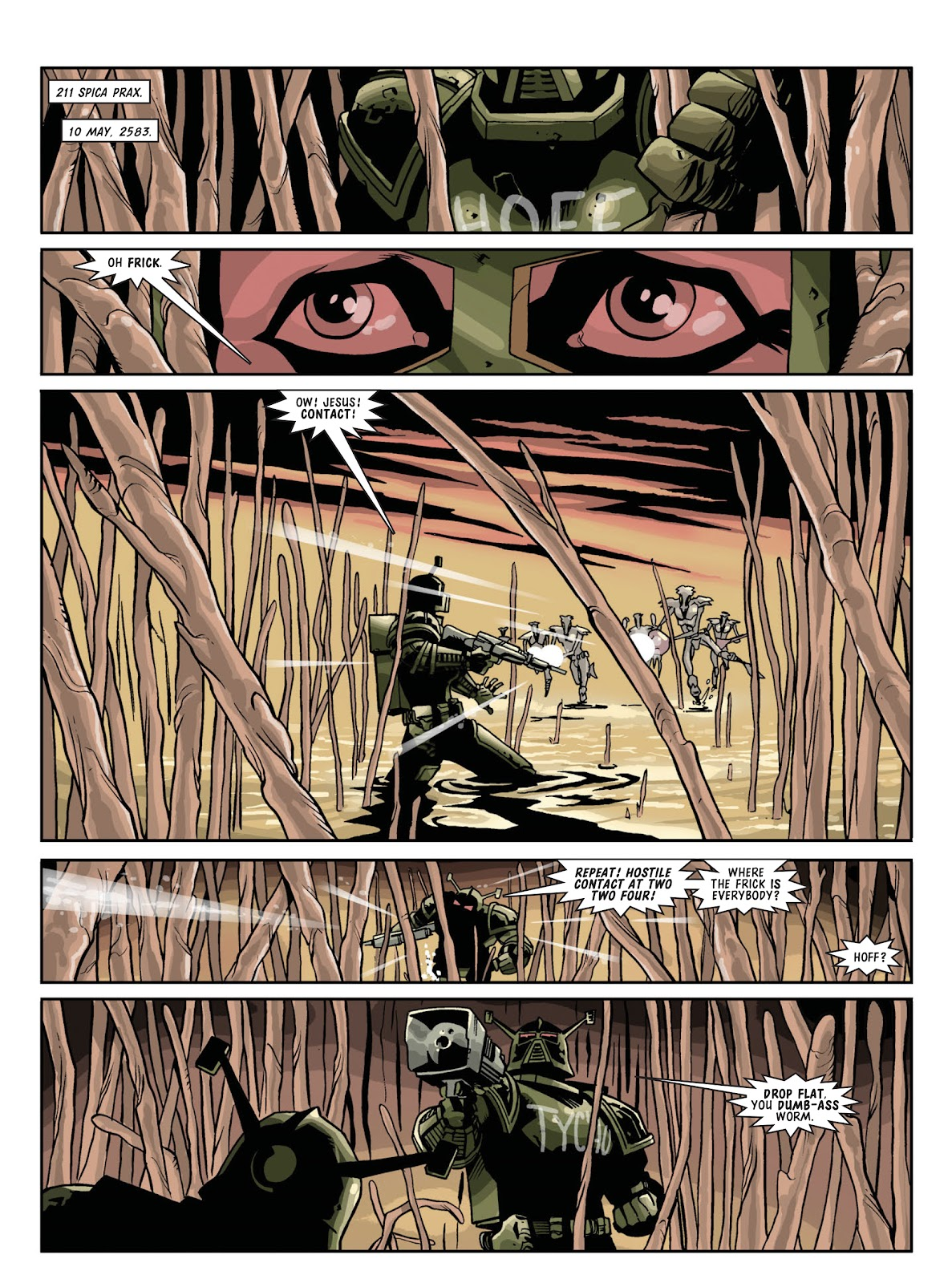 Judge Dredd Megazine (Vol. 5) Issue #381 #180 - English 93