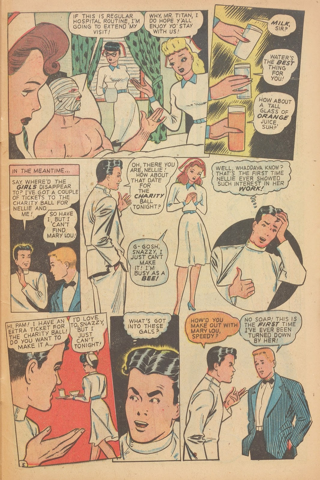 Read online Nellie The Nurse (1945) comic -  Issue #15 - 47