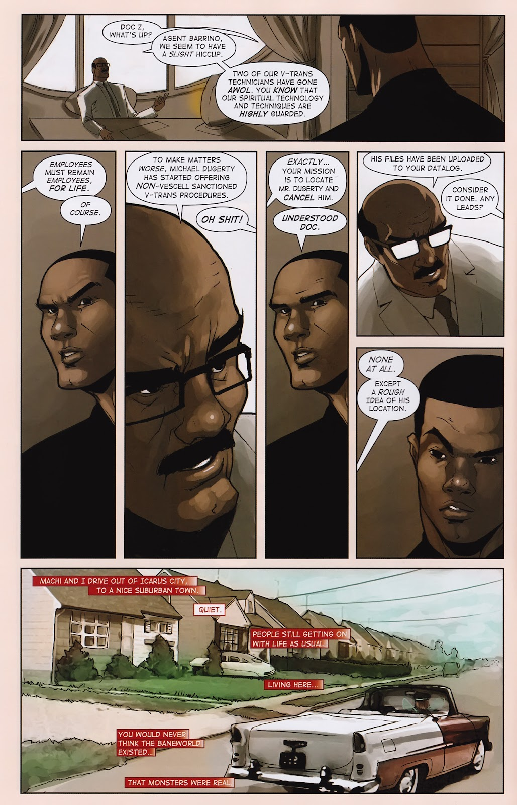 Read online Vescell comic -  Issue #2 - 6