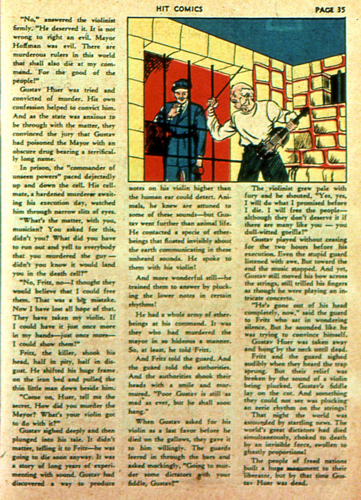 Read online Hit Comics comic -  Issue #2 - 37
