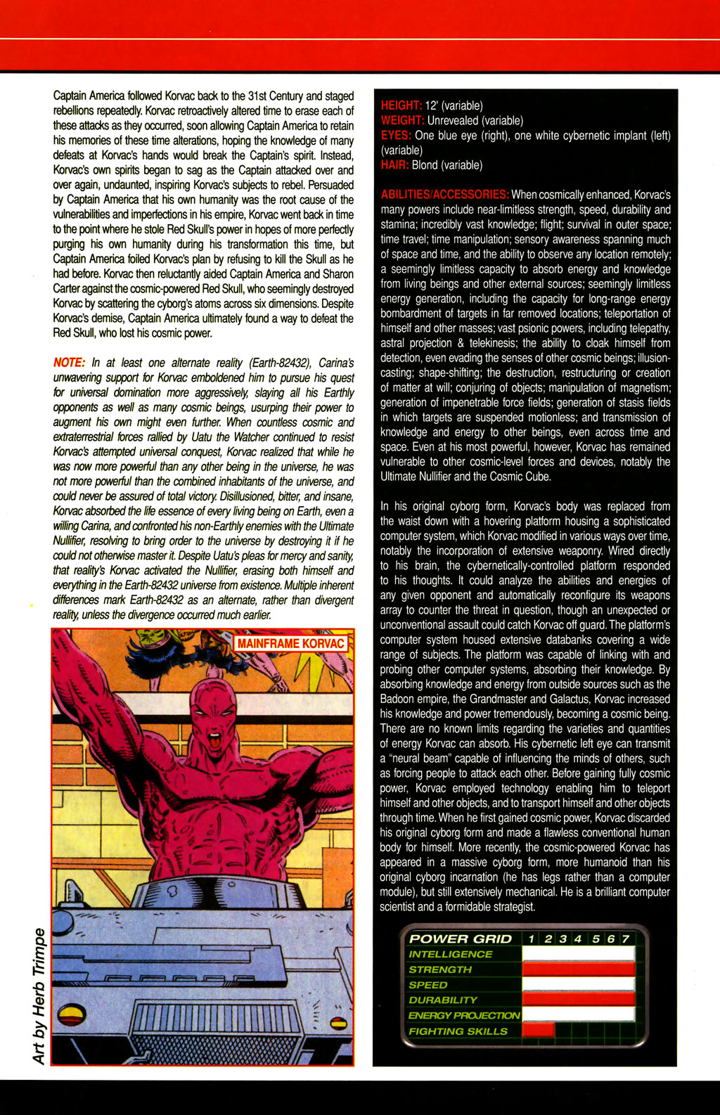 Read online All-New Official Handbook of the Marvel Universe A to Z comic -  Issue #6 - 20