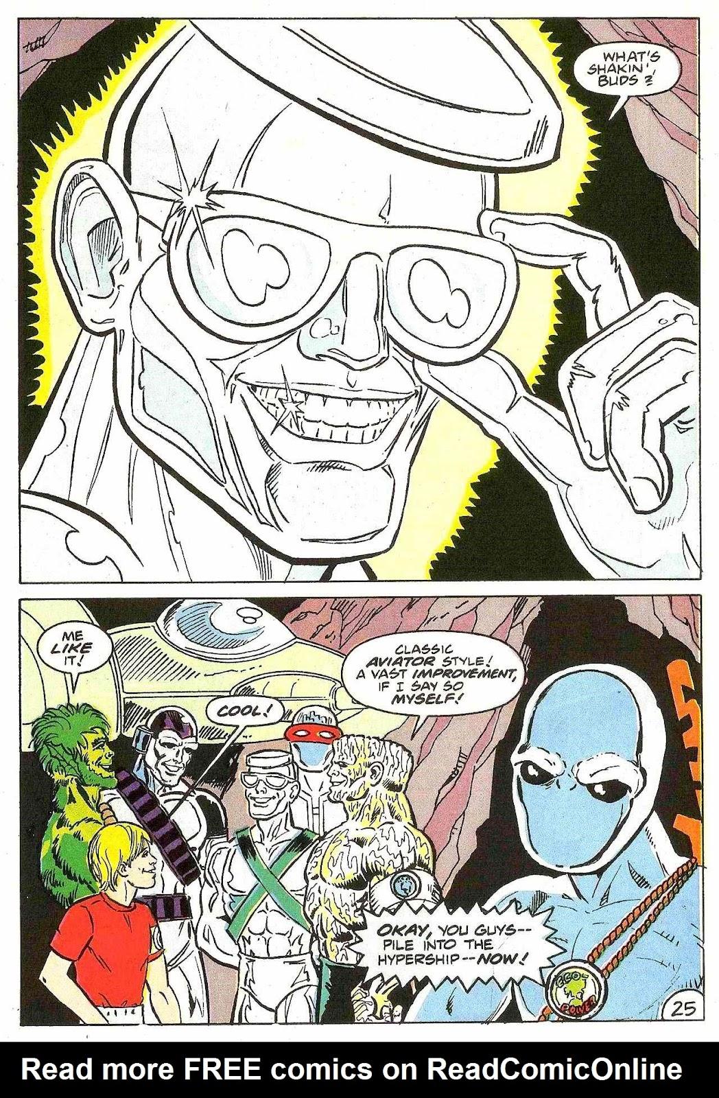 Read online Zen Intergalactic Ninja (1992) comic -  Issue #2 - 23
