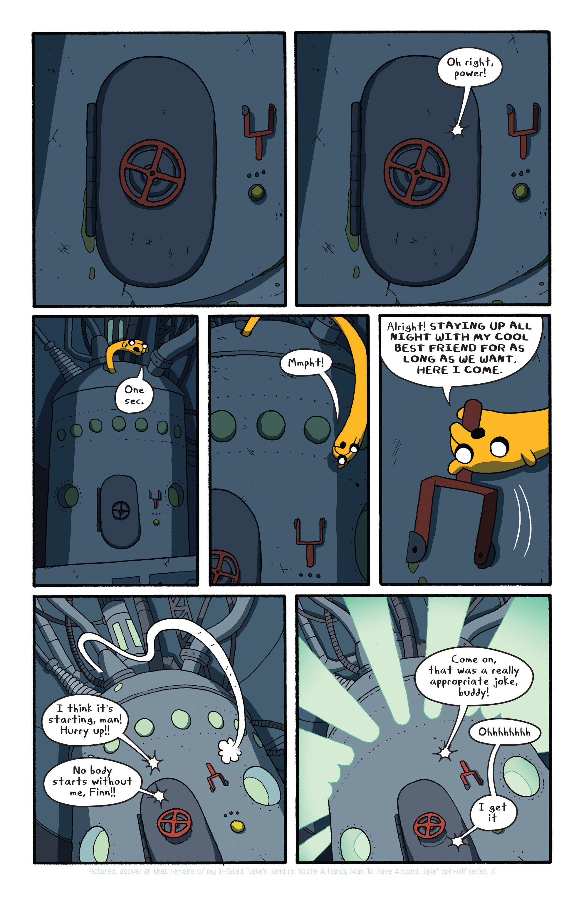 Read online Adventure Time comic -  Issue #26 - 20