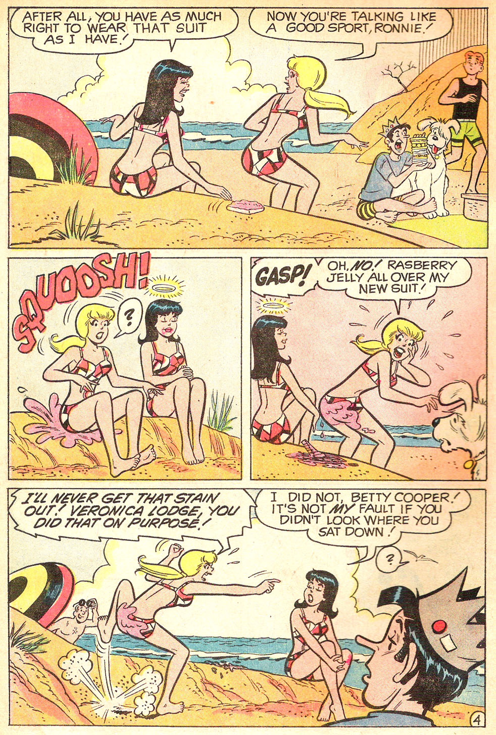 Read online Archie's Girls Betty and Veronica comic -  Issue #177 - 6