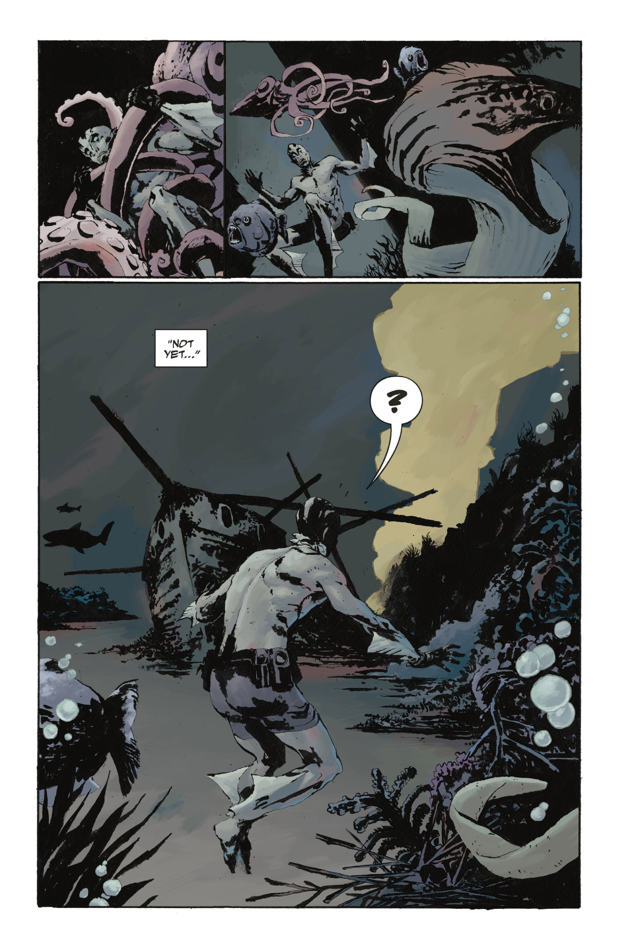 Read online Abe Sapien: The Drowning comic -  Issue #Abe Sapien: The Drowning _TPB - 39