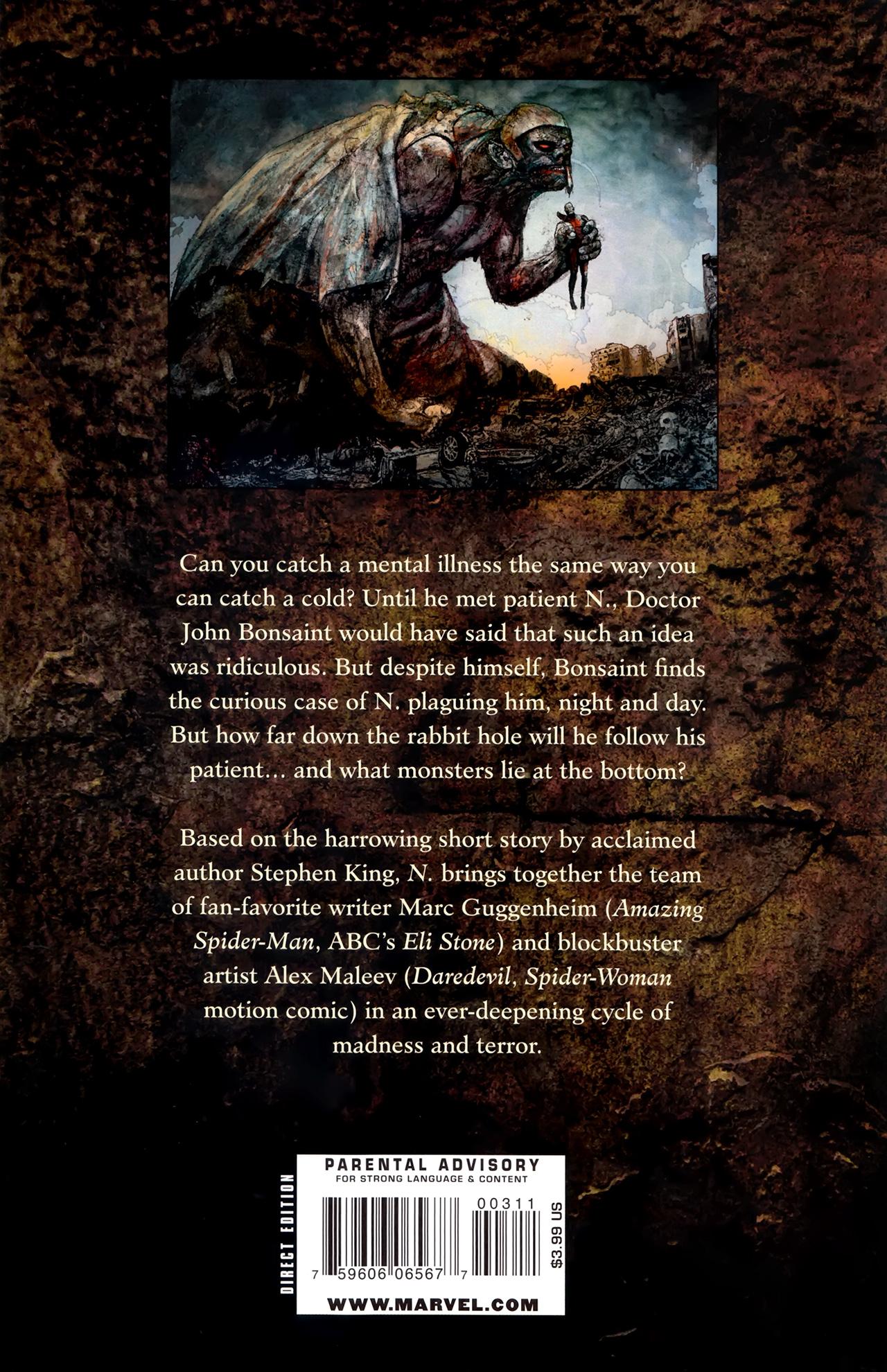 Read online Stephen King's N. comic -  Issue #3 - 35