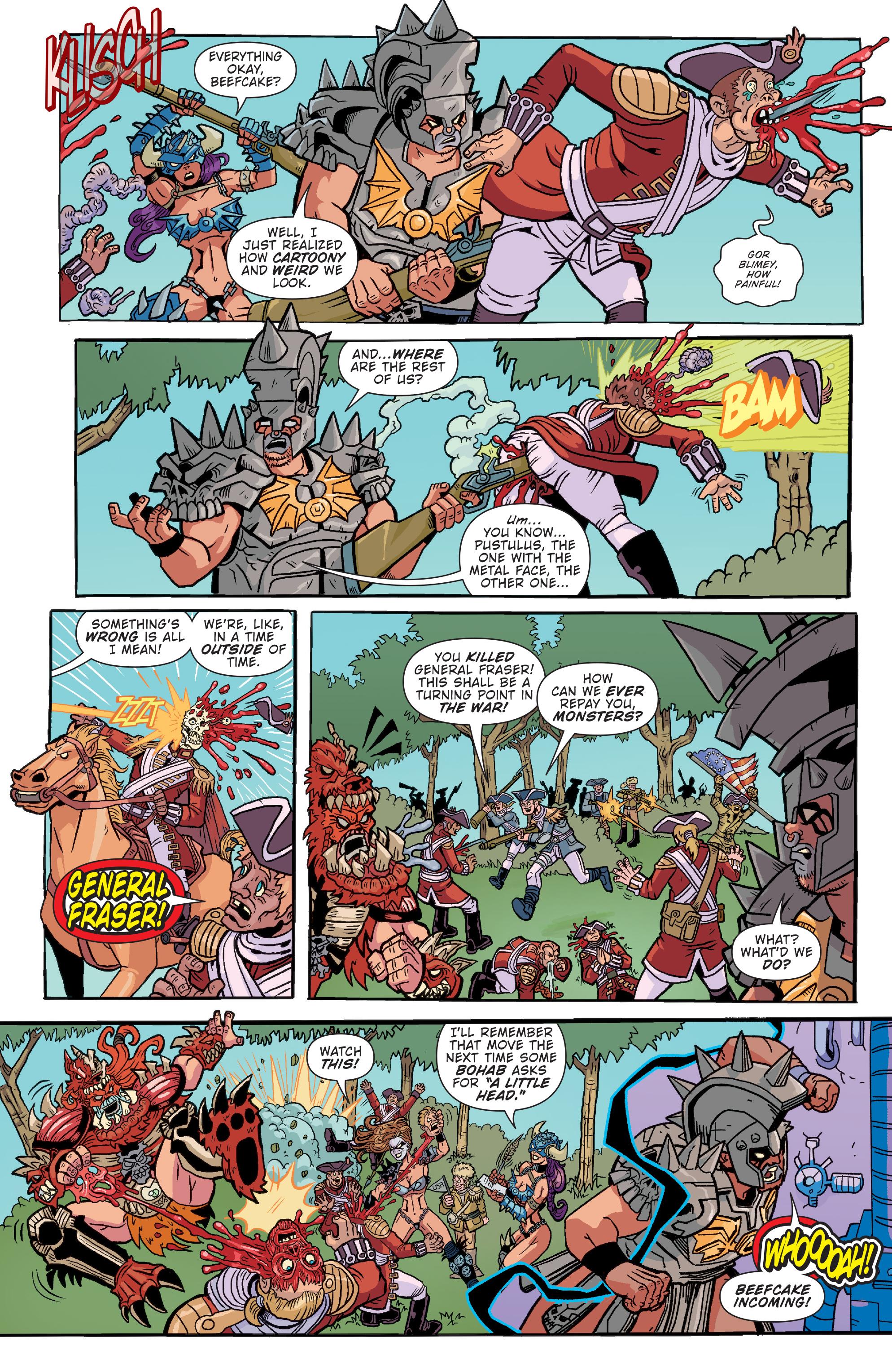 Read online Gwar: Orgasmageddon comic -  Issue #1 - 14