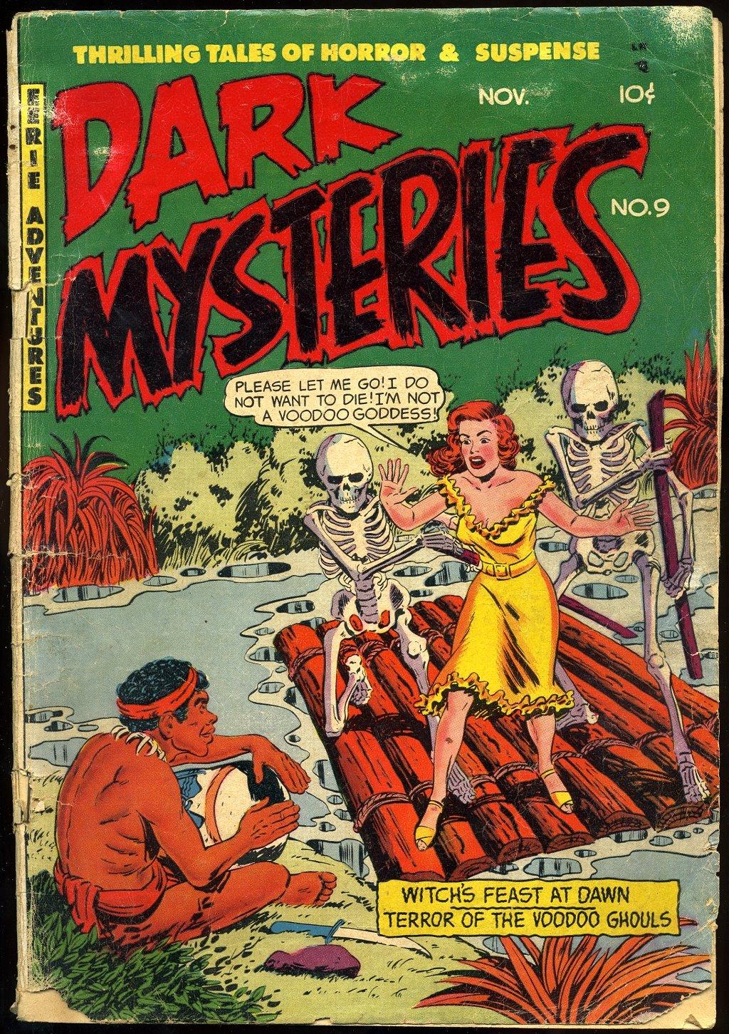 Dark Mysteries 9 Page 1