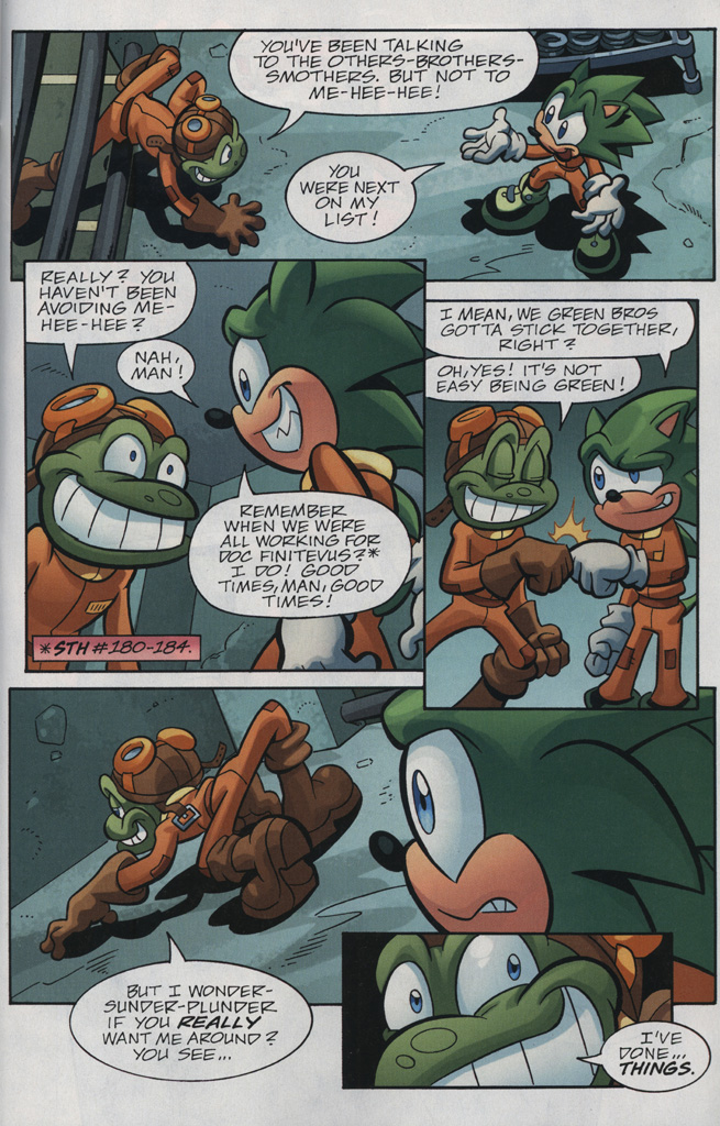 Read online Sonic Universe comic -  Issue #31 - 21
