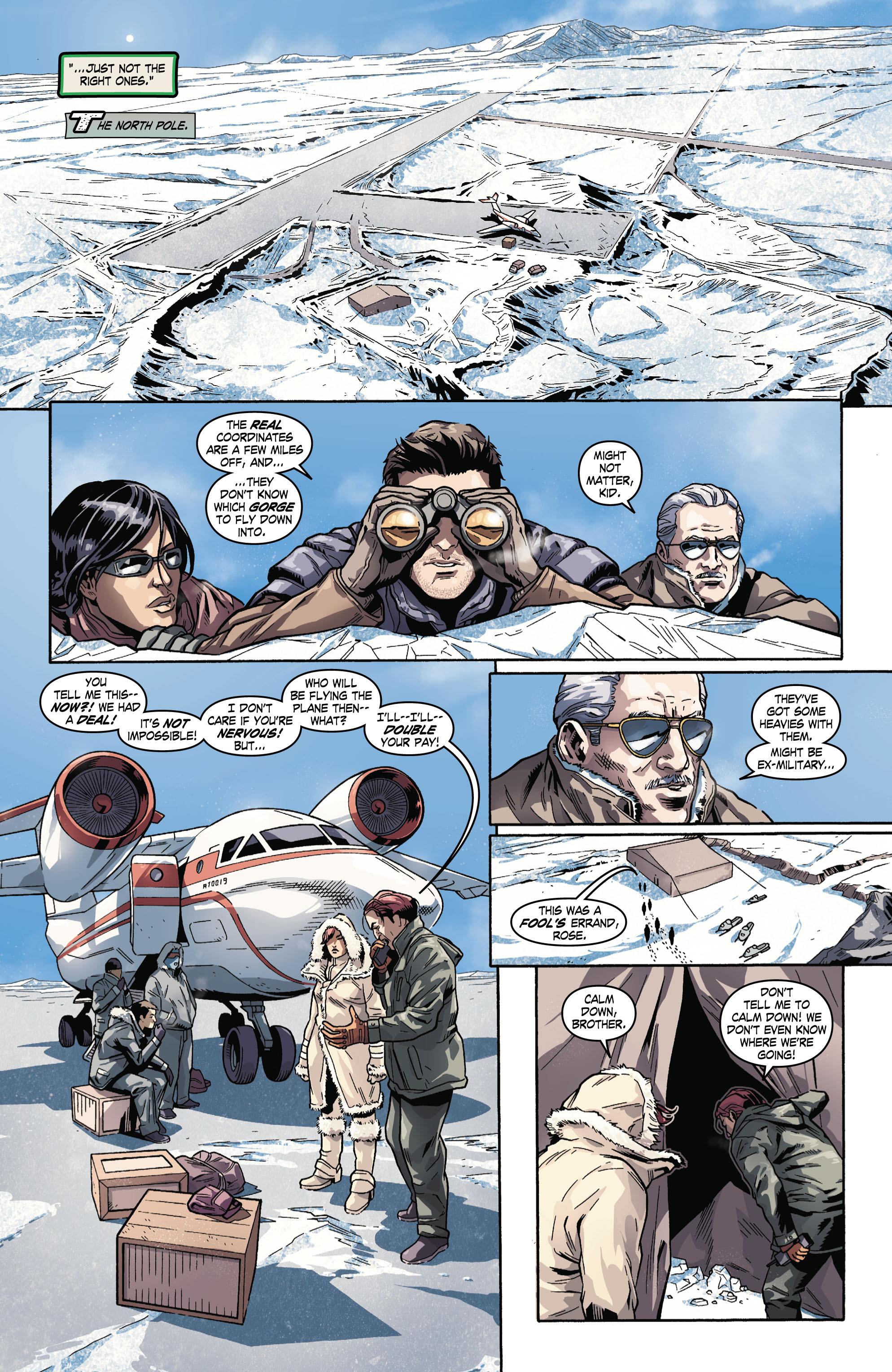 Read online Uncharted comic -  Issue #3 - 12