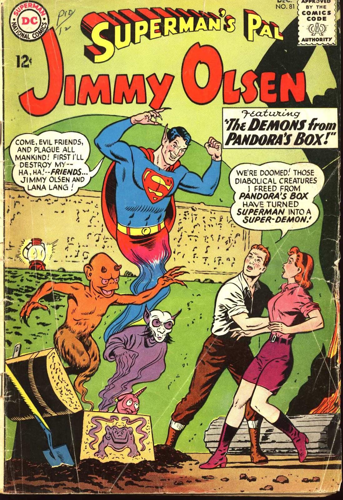 Supermans Pal Jimmy Olsen (1954) 81 Page 1