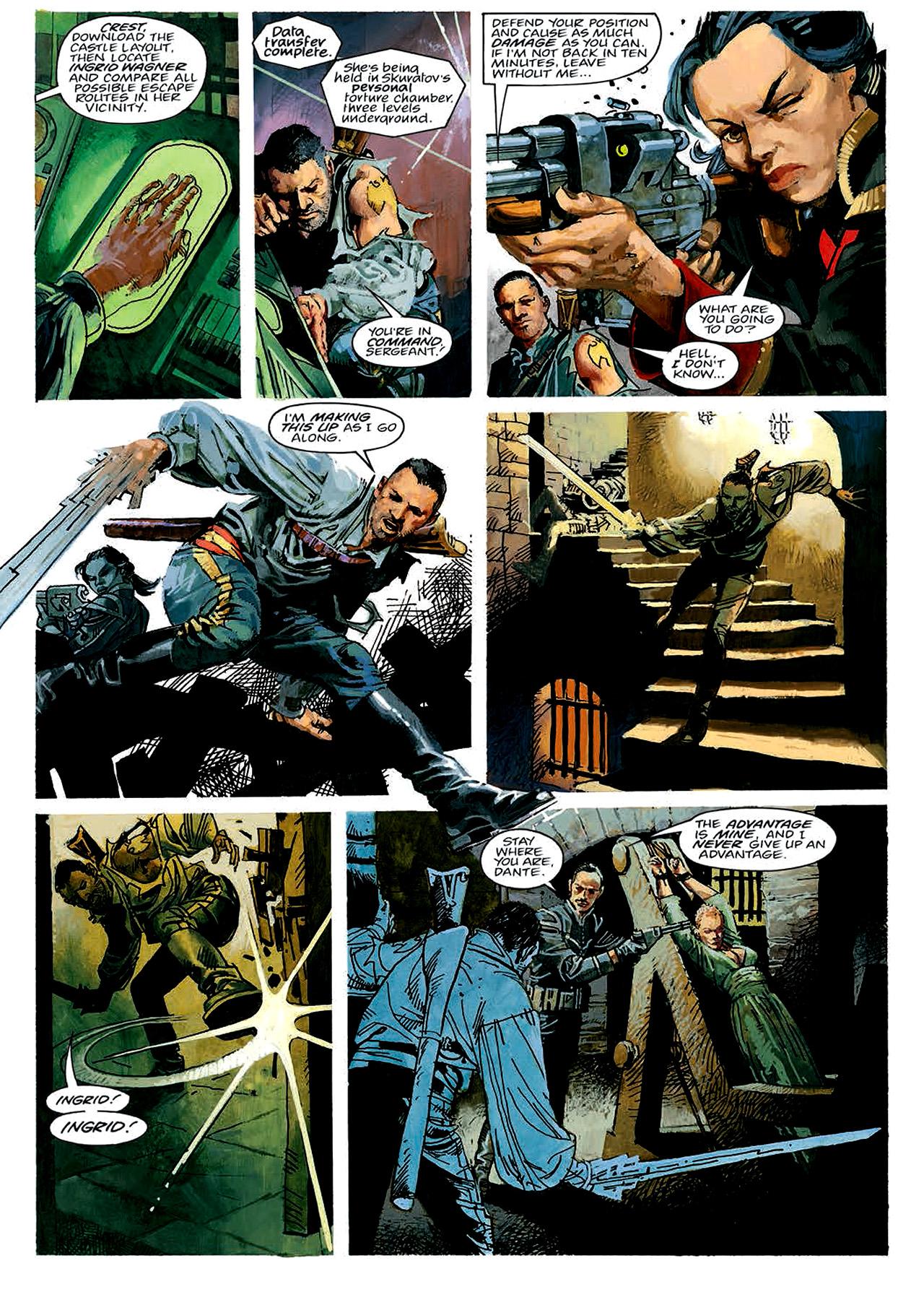 Read online Nikolai Dante comic -  Issue # TPB 4 - 43