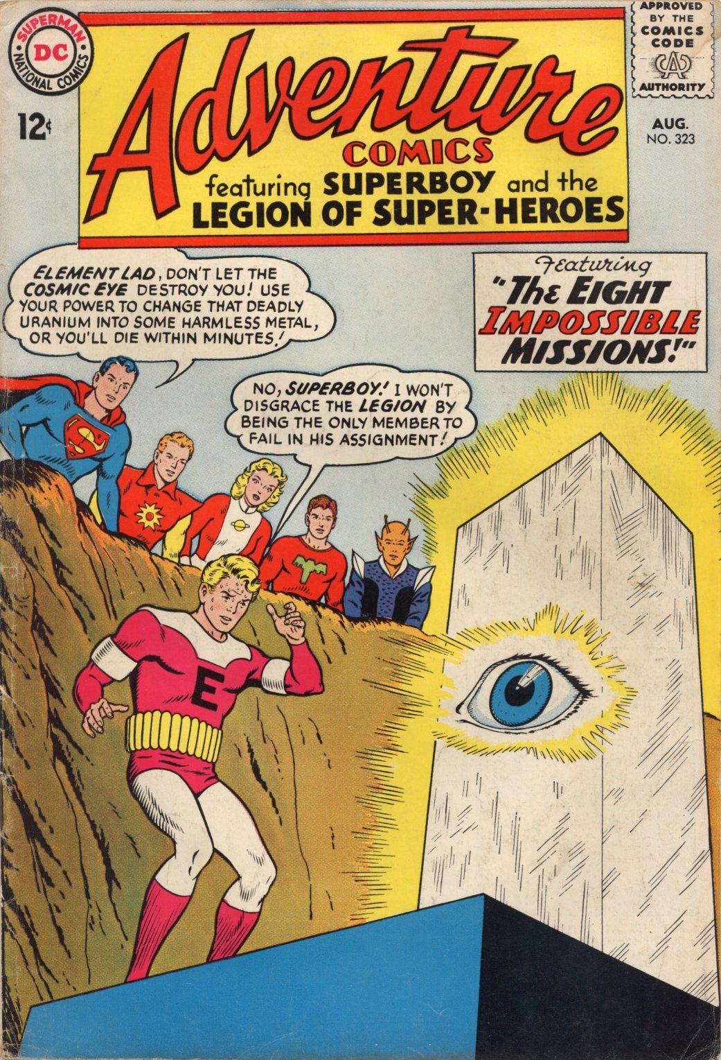 Read online Adventure Comics (1938) comic -  Issue #323 - 1