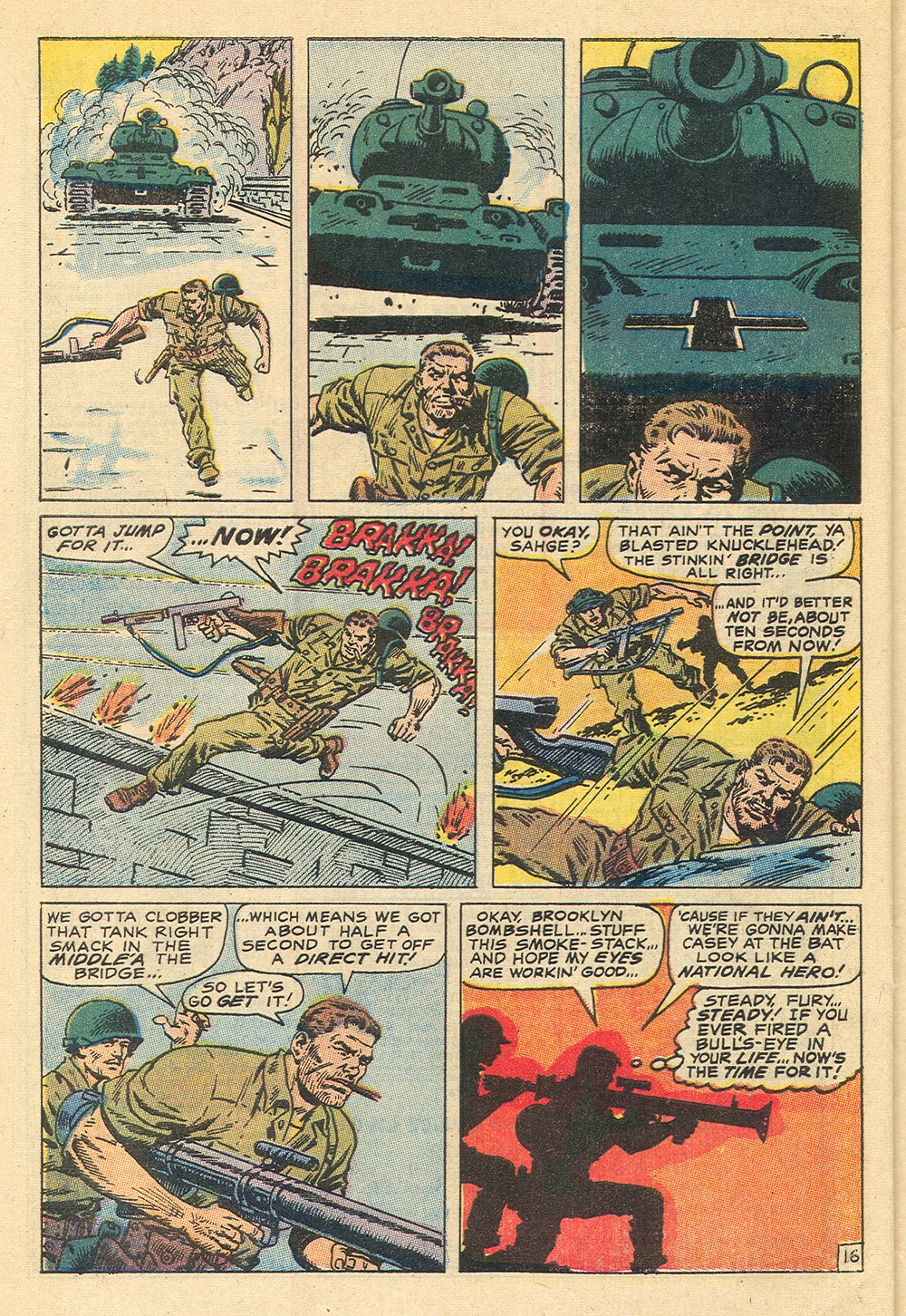 Read online Sgt. Fury comic -  Issue #71 - 28