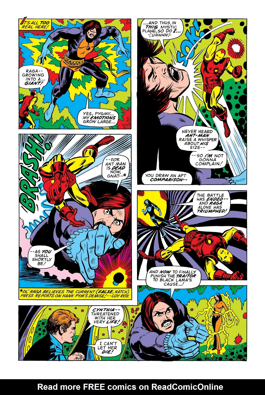 Read online Marvel Masterworks: The Invincible Iron Man comic -  Issue # TPB 8 (Part 3) - 111