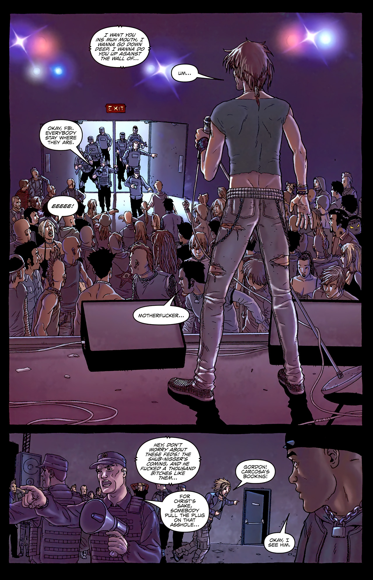 Read online Alan Moore's Neonomicon comic -  Issue #1 - 26