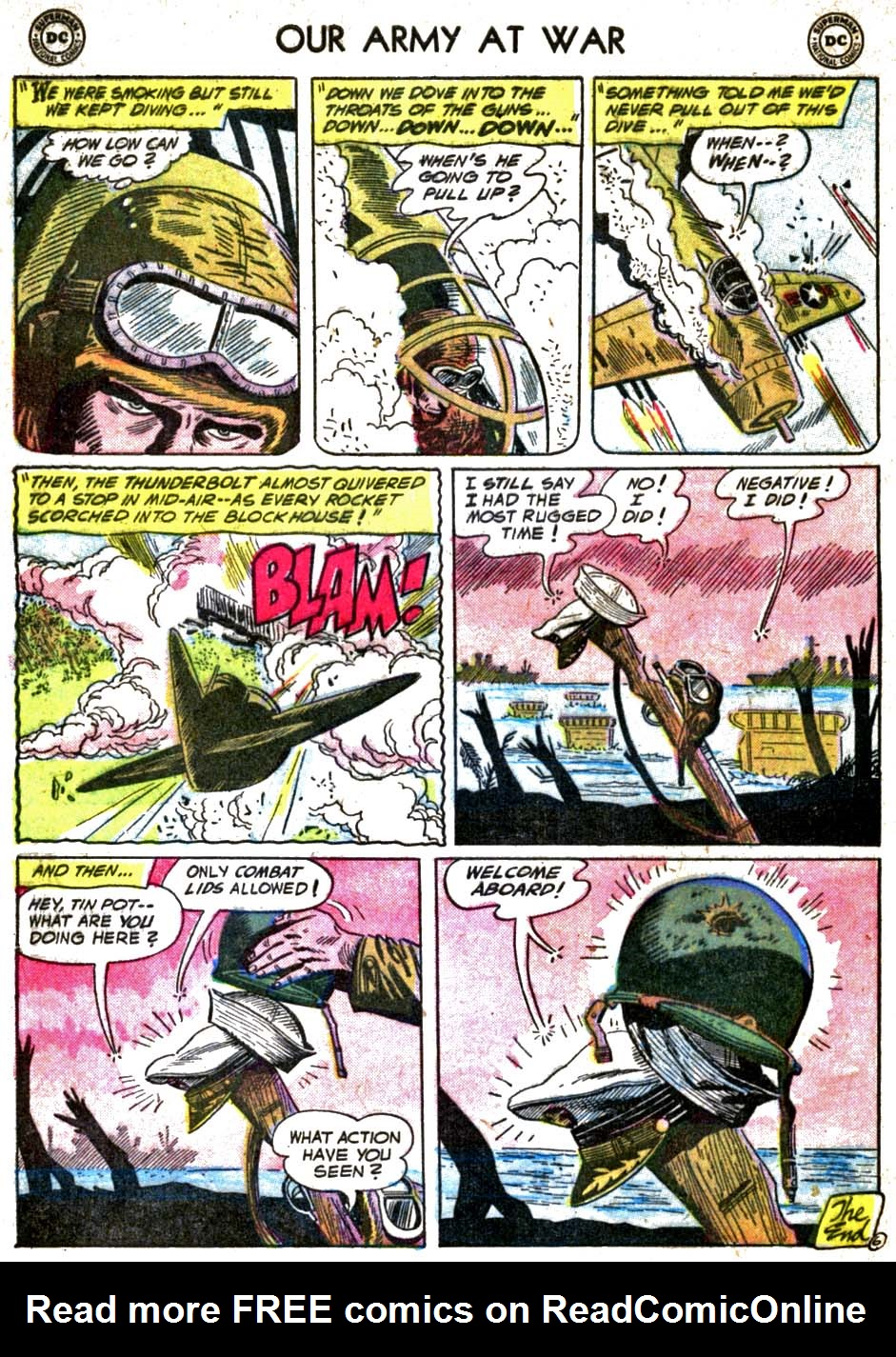 Our Army at War (1952) issue 58 - Page 32