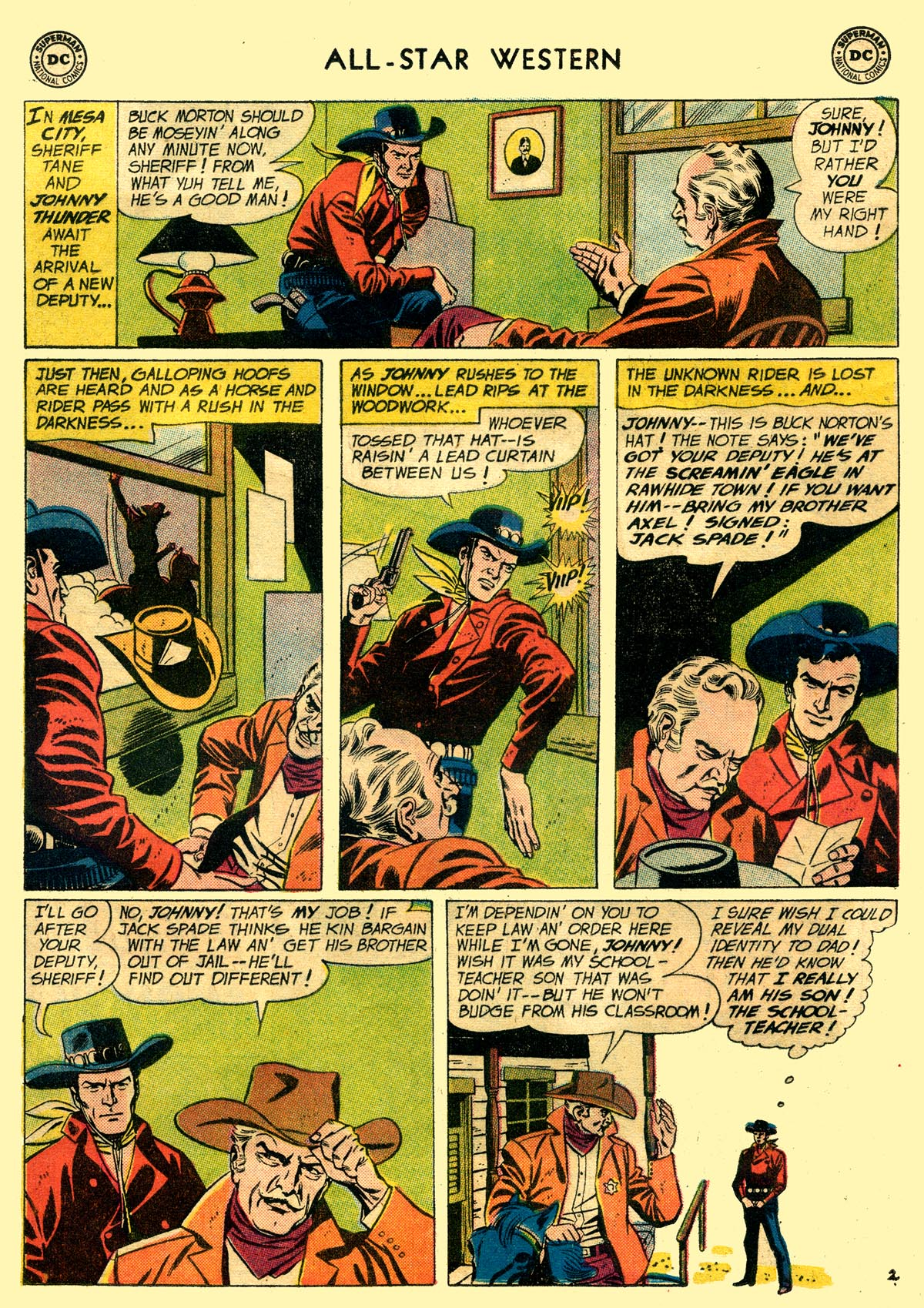 Read online All-Star Western (1951) comic -  Issue #109 - 4
